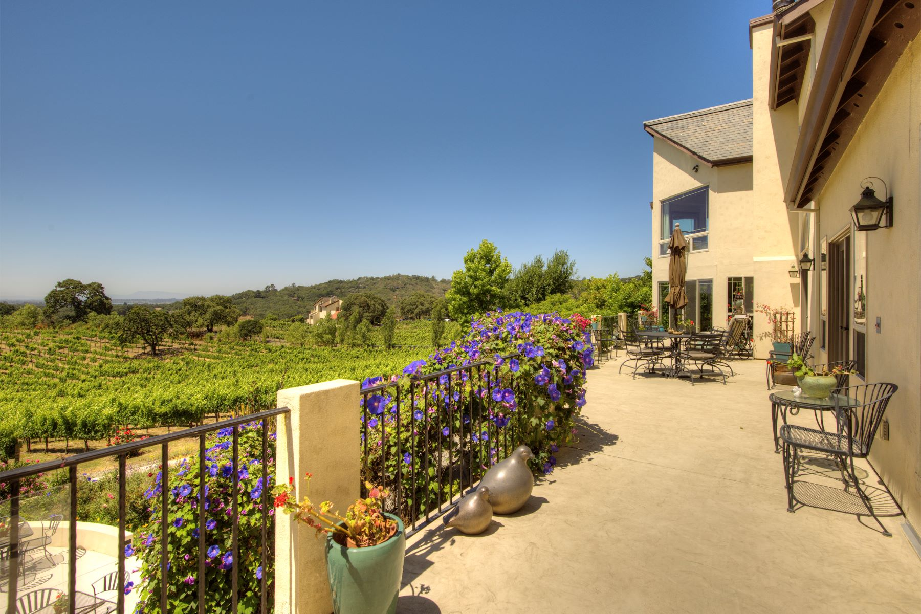 Single Family Home for Sale at Quail Knoll Vineyards 21 Palm Drive Napa, California 94558 United States