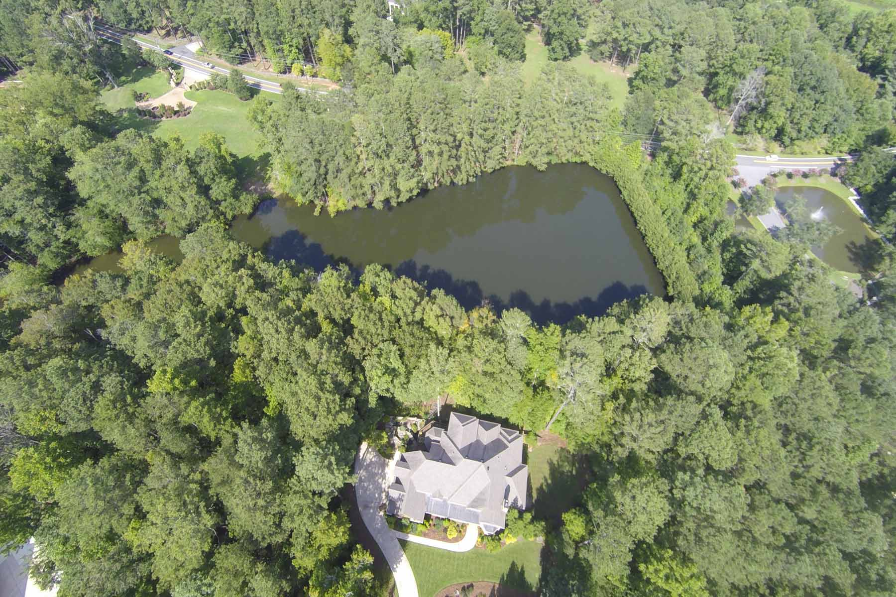 Land voor Verkoop een t Luxury Lakfront Living Minutes From Downtown Alpharetta 108 Waters Edge Drive Woodstock, Georgië 30188 Verenigde Staten