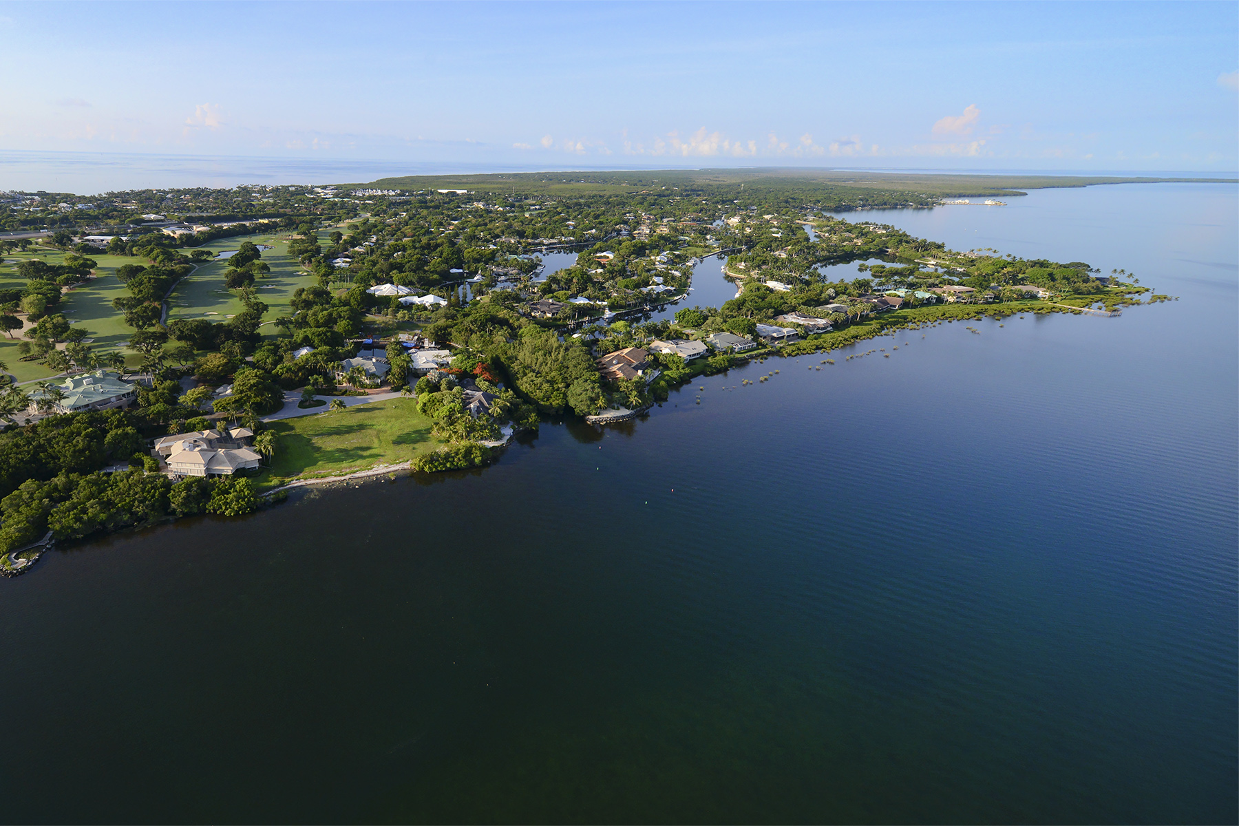 Additional photo for property listing at Finest Bay Front Vacant Land at Ocean Reef 6 & 7 Cannon Point Road Key Largo, Florida 33037 Amerika Birleşik Devletleri