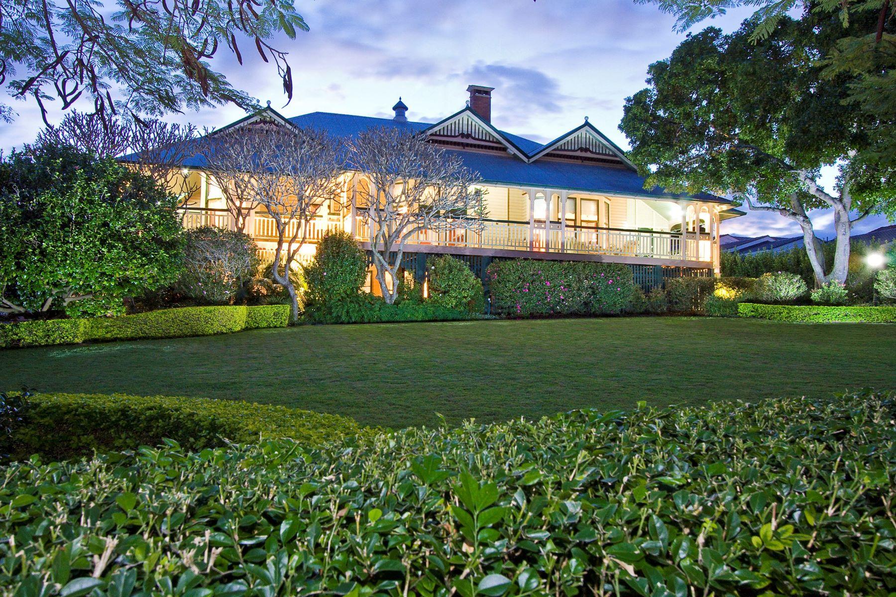 Casa Unifamiliar por un Venta en Ruhamah 23 Killara Avenue Brisbane, Queensland, 4007 Australia
