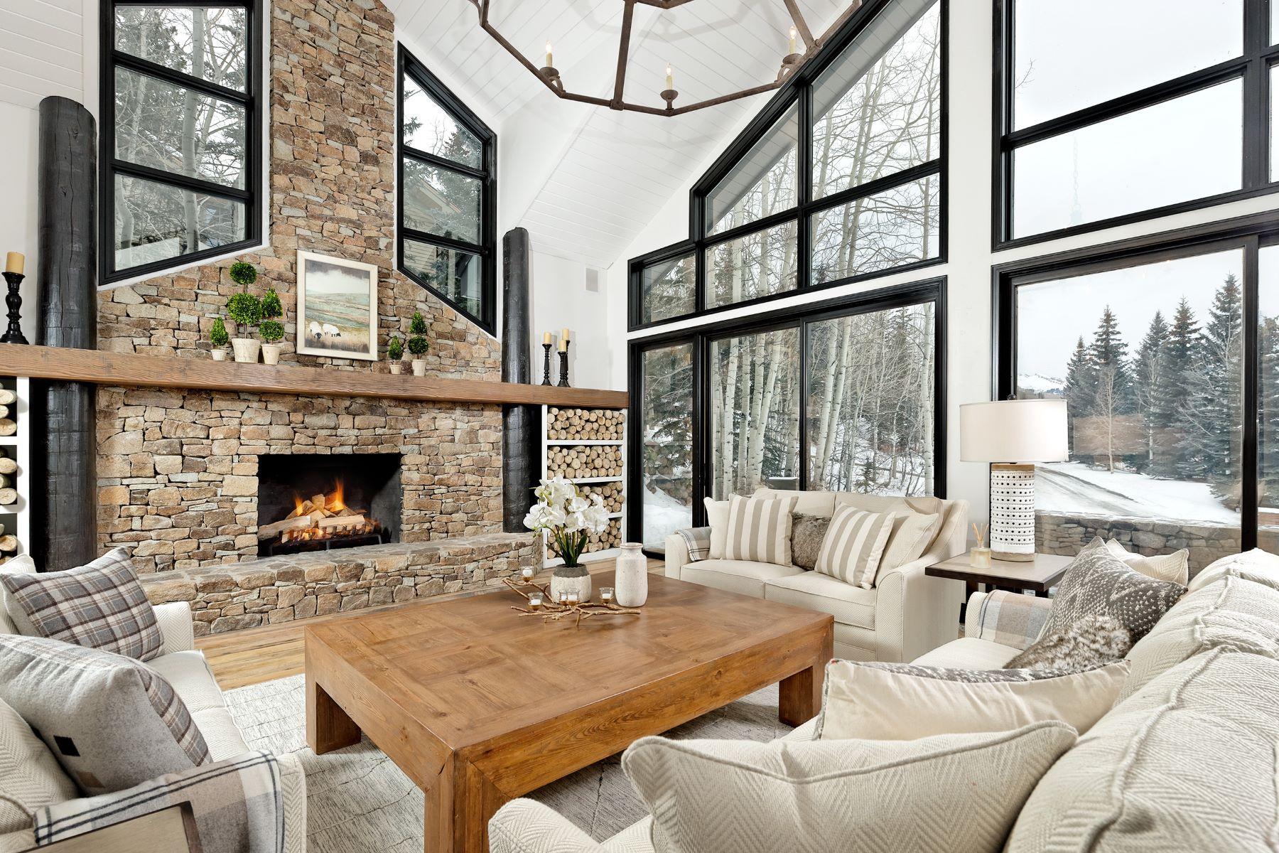 Maison unifamiliale pour l Vente à Deer Ridge Lodge 328 Deer Ridge Lane Snowmass Village, Colorado, 81615 États-Unis
