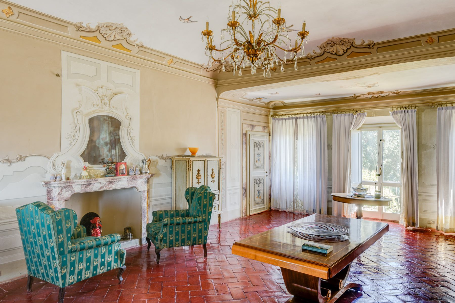 Additional photo for property listing at Villa « Michelangiolesca »  au cœur du Chianti San Casciano in Val di Pesa San Casciano In Val Di Pesa, Florence 50026 Italie