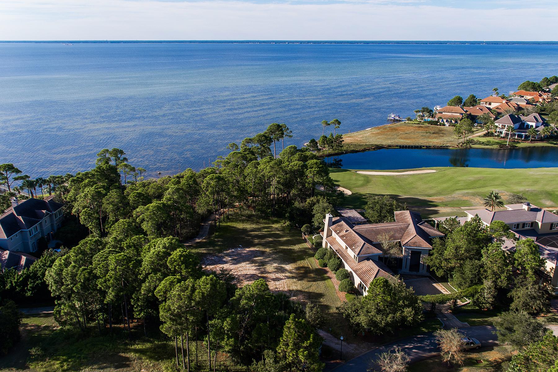 Земля для того Продажа на ESTATE SIZED LOT WITH BAY VIEWS IN GATED COMMUNITY 3256 Burnt Pine Cove Miramar Beach, Флорида, 32550 Соединенные Штаты