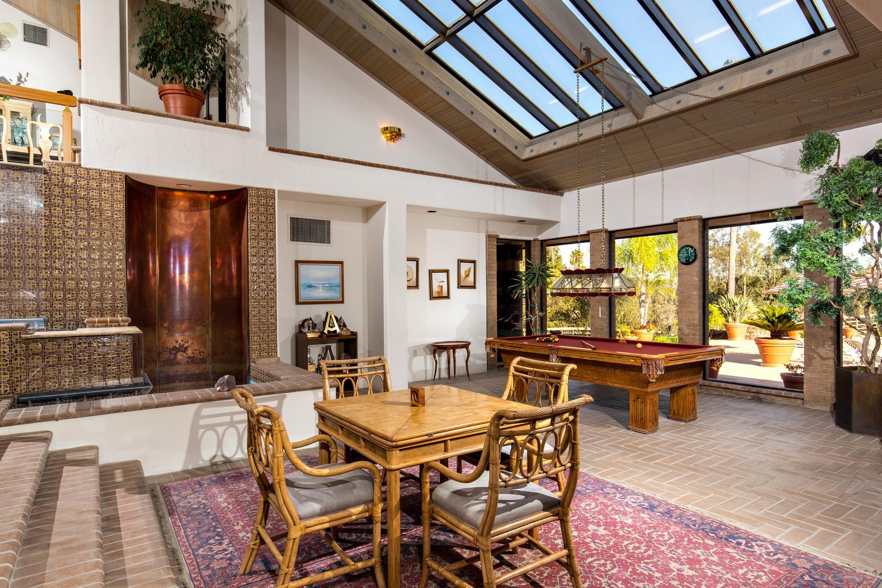 Moradia para Venda às 7033 Las Colinas Rancho Santa Fe, Califórnia, 92067 Estados Unidos