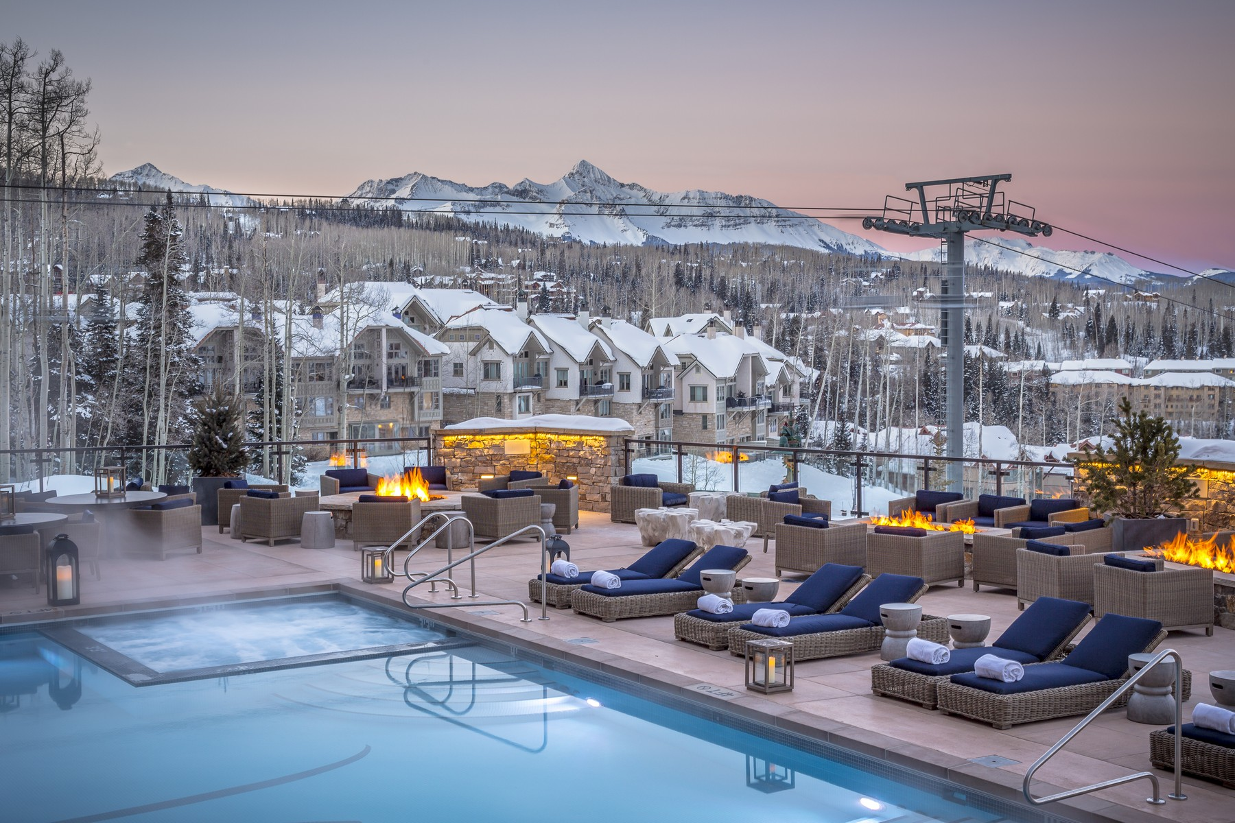 Condominium for Sale at Residence 703, Madeline Hotel & Residences 568 Mountain Village Boulevard, Residence 703 Telluride, Colorado, 81435 United States