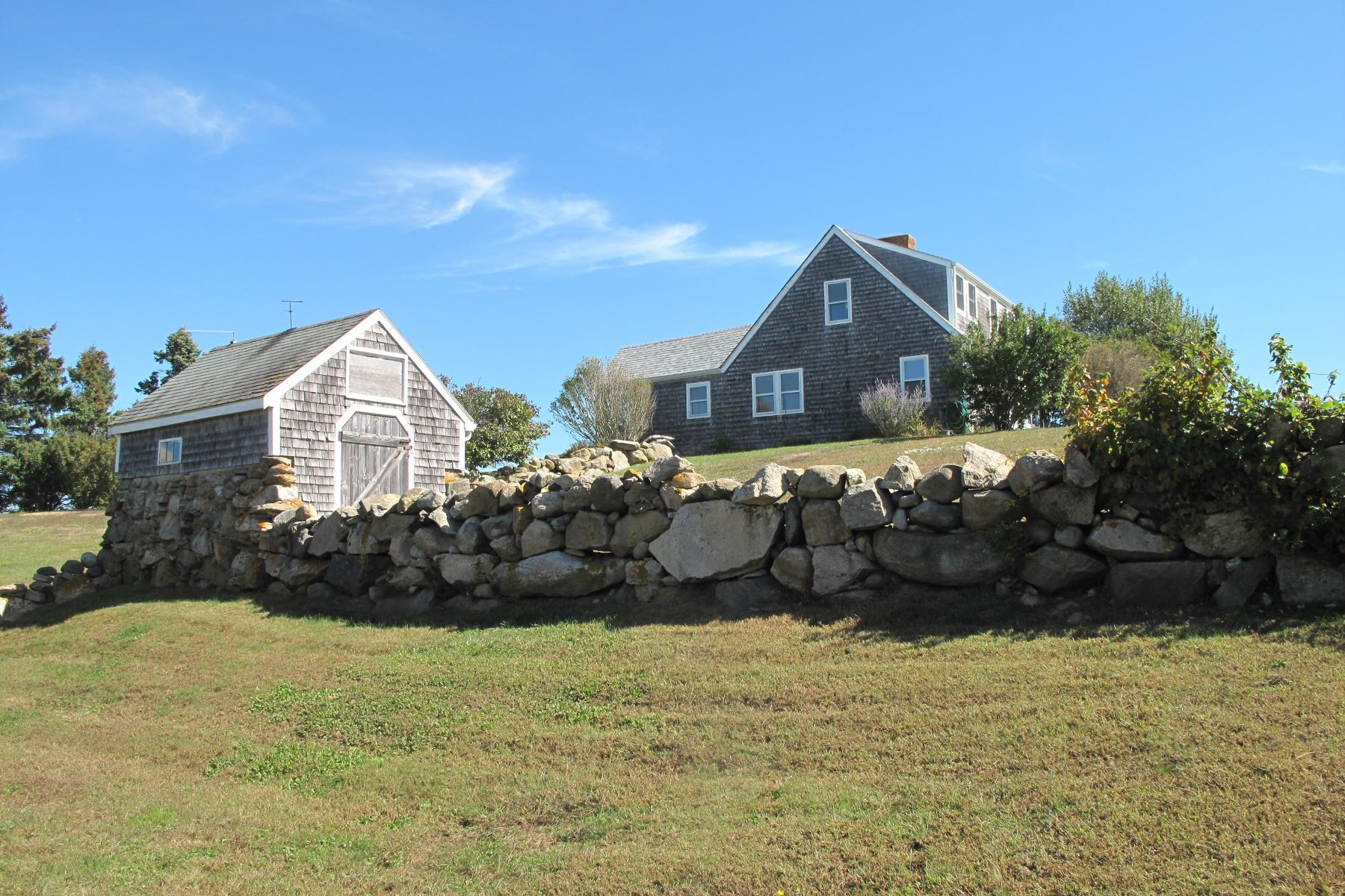 Single Family Home for Sale at Spacious, Country Farmhouse 773 Lakeside Drive Block Island, Rhode Island 02807 United States