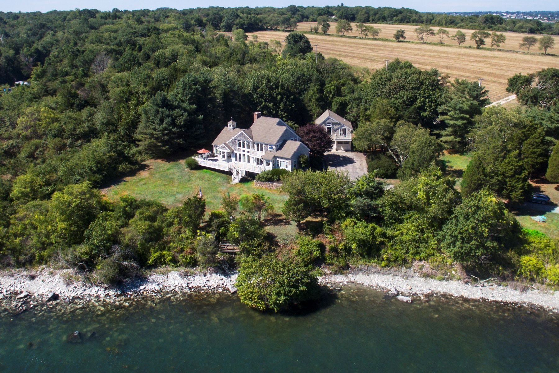 Single Family Home for Sale at Beavertail Point 115 Beavertail Road Jamestown, Rhode Island, 02835 United States