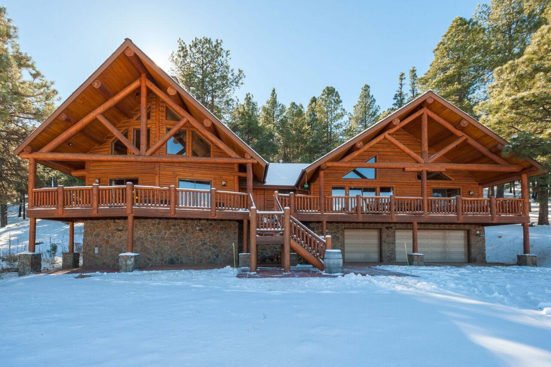 Single Family Home for Sale at 18 acres of free land with the best views in Northern Arizona 9405 W Hashknife Trl Flagstaff, Arizona, 86005 United States