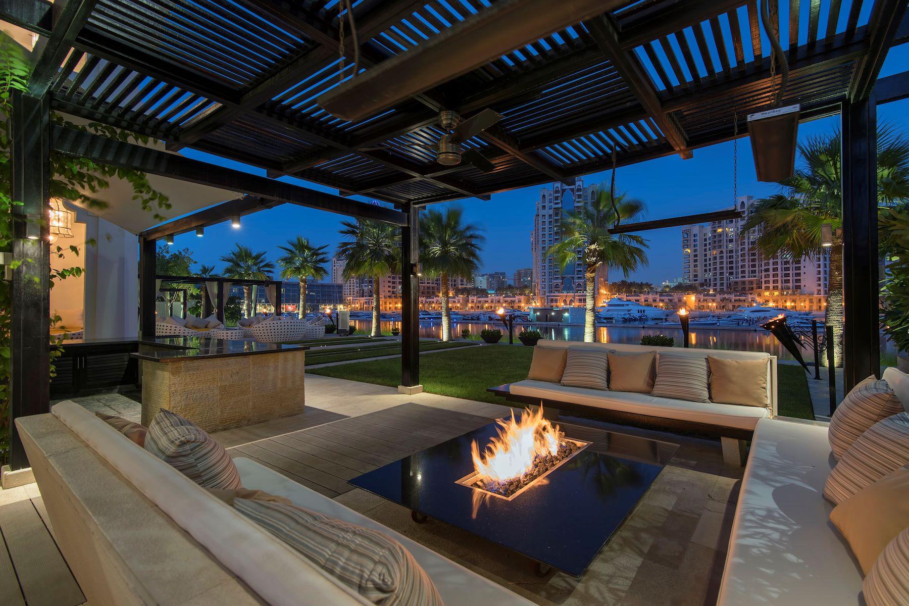 Single Family Home for Sale at Italian Luxury Beachfront Living Dubai, United Arab Emirates
