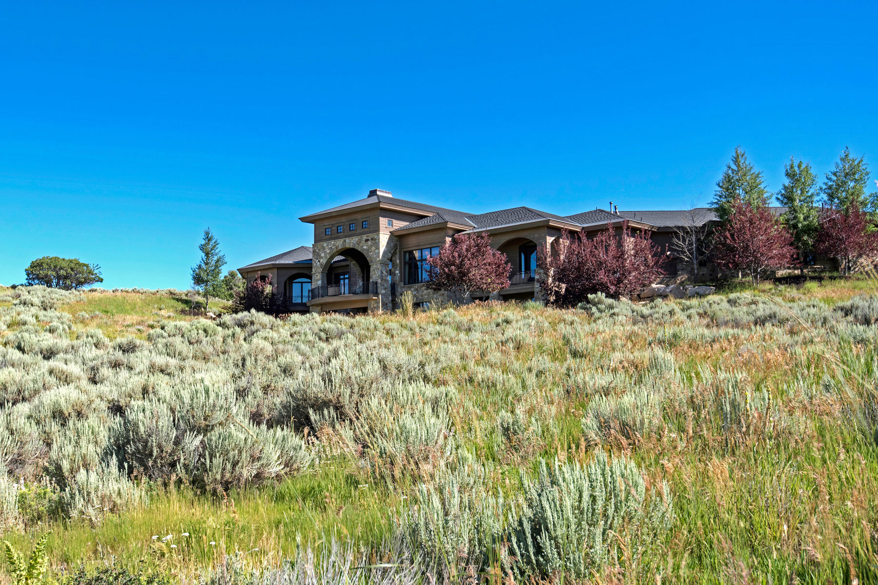 Single Family Home for Sale at Amazing Location & Views in Promontory 7501 N Promontory Ranch Rd Park City, Utah, 84098 United States