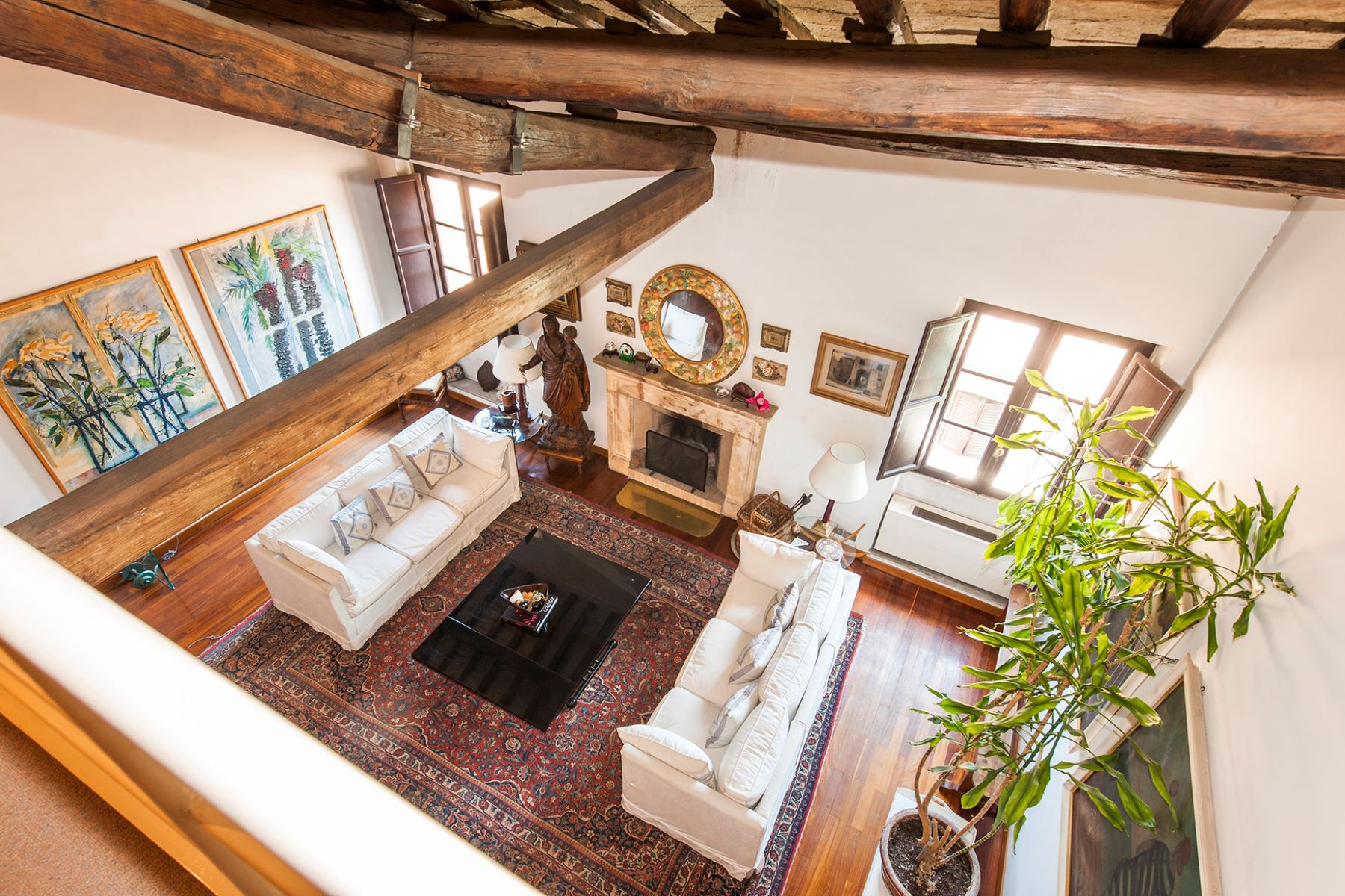 Apartment for Sale at Charming penthouse in Borgo Pio neighborhood Rome, Rome, Italy