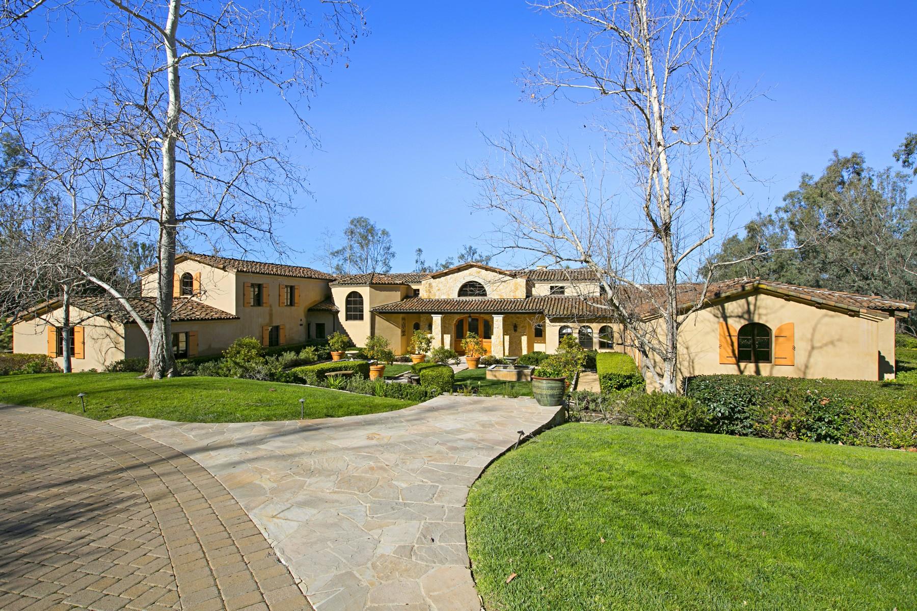 一戸建て のために 売買 アット 5168 Linea Del Cielo Rancho Santa Fe, カリフォルニア, 92067 アメリカ合衆国