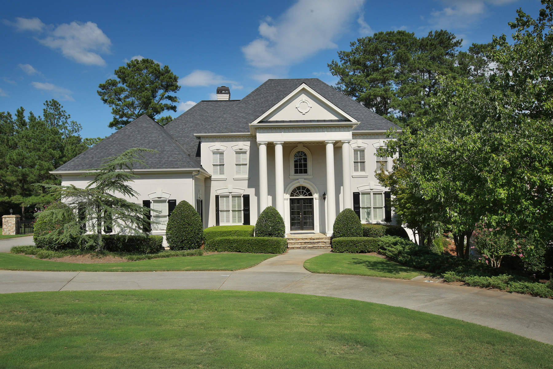 Single Family Home for Sale at Fabulous Grande Home On The Golf Course! 8035 Royal Saint Georges Lane Duluth, Georgia, 30097 United States