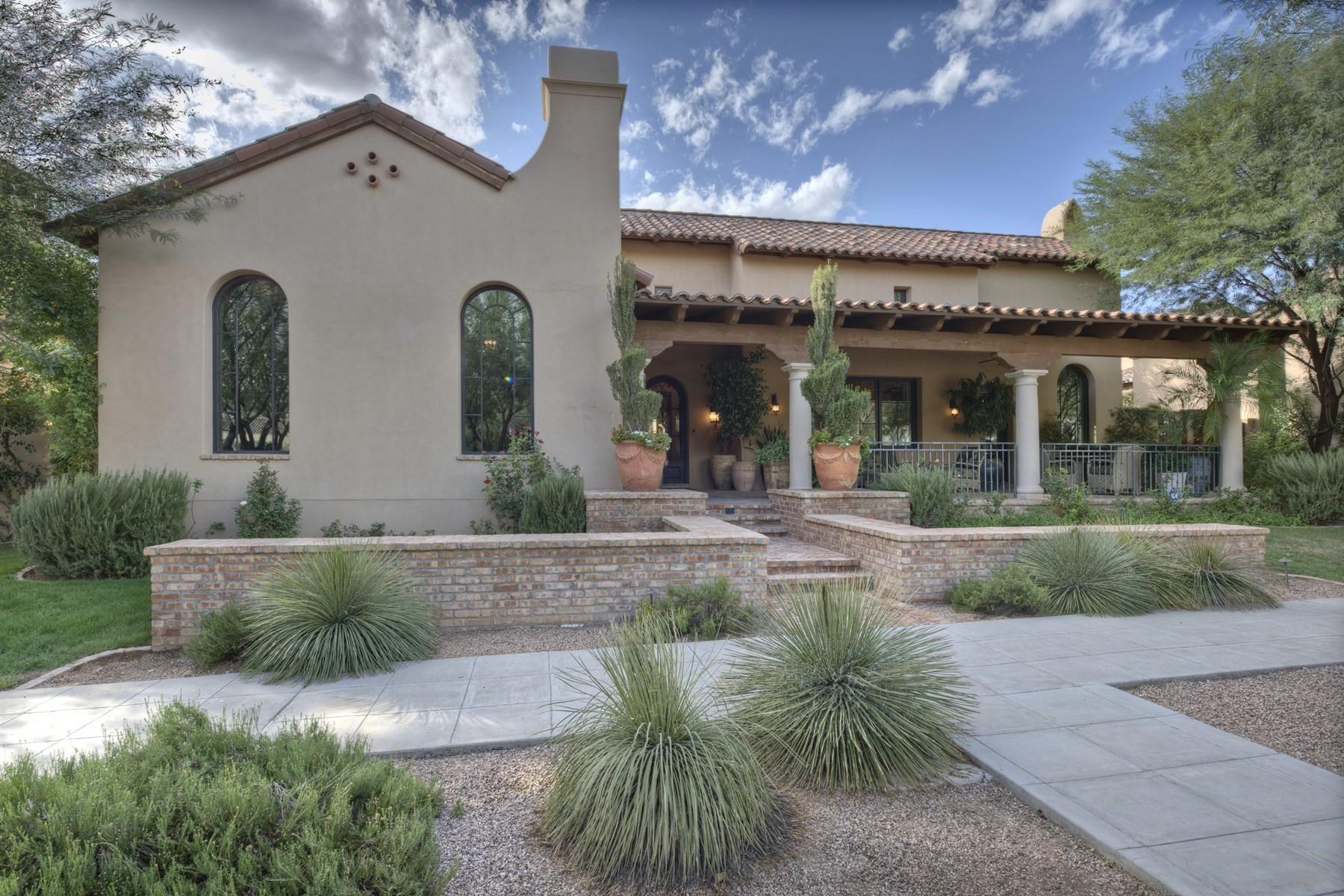 Casa para uma família para Venda às Wonderful ''Salcito'' homestead property in Silverleaf 20664 N 101st Way Scottsdale, Arizona, 85255 Estados Unidos