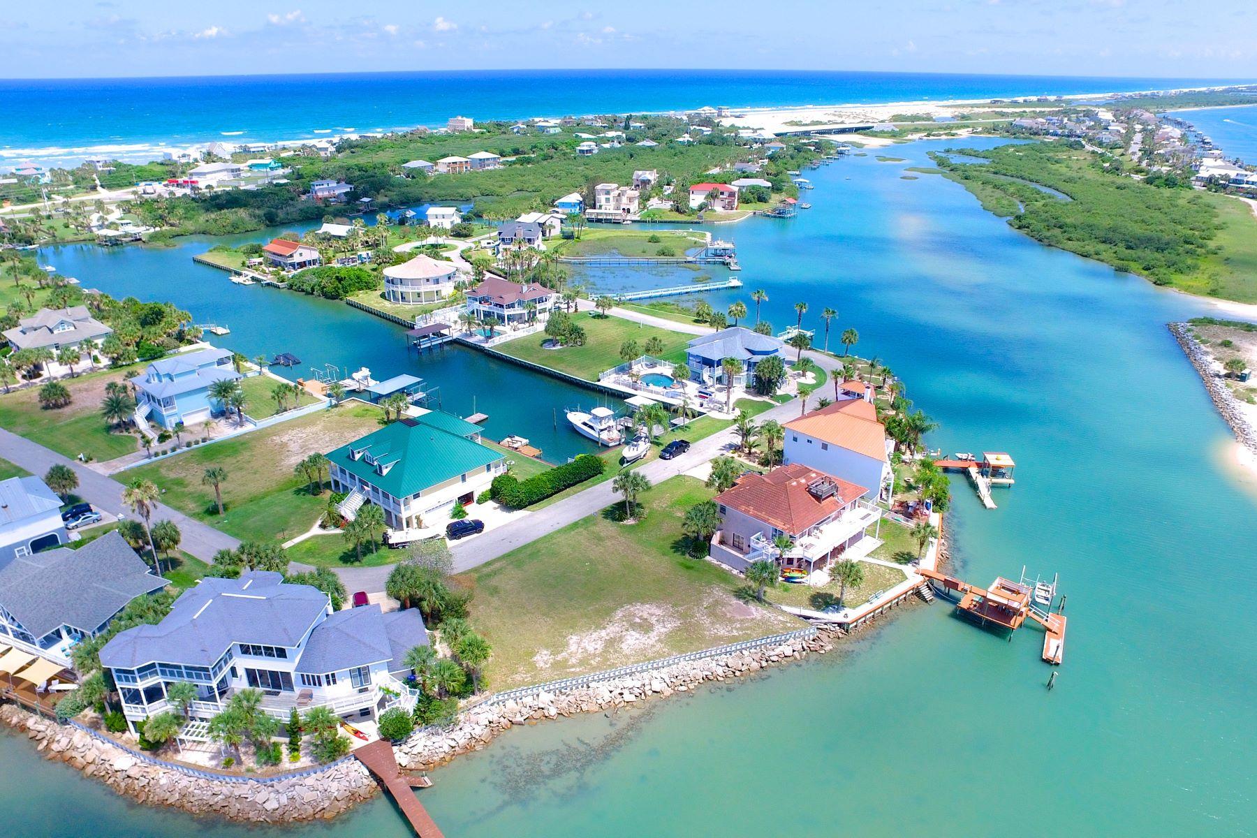 Đất đai vì Bán tại 121' Waterfront Island Lot 256 Barrataria Drive St. Augustine, Florida, 32080 Hoa Kỳ