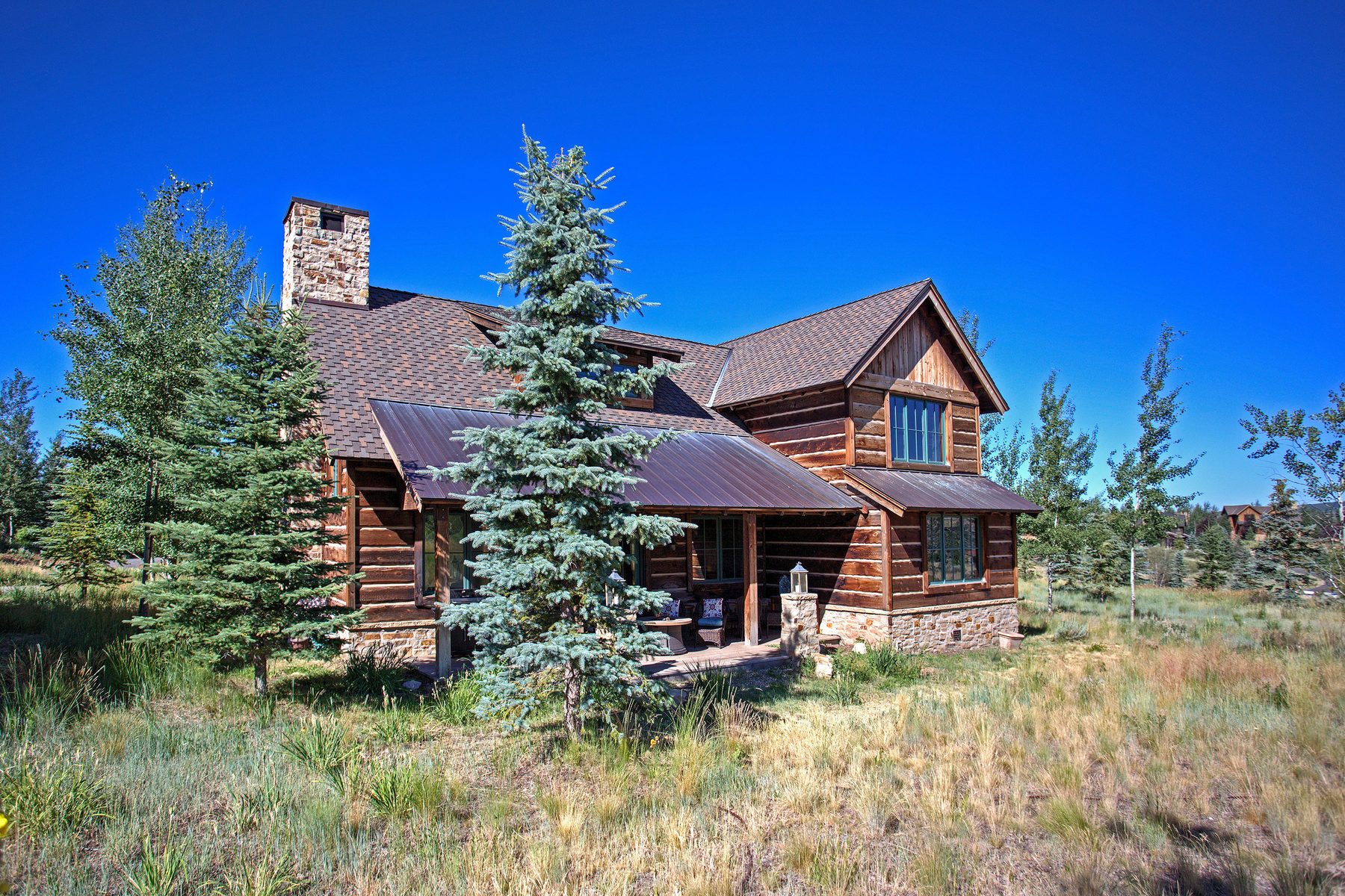 Maison unifamiliale pour l Vente à Exclusive Setting in the Trapper Cabin Neighborhood 7933 Chuck Wagon Ct Lot 61 Park City, Utah, 84098 États-Unis