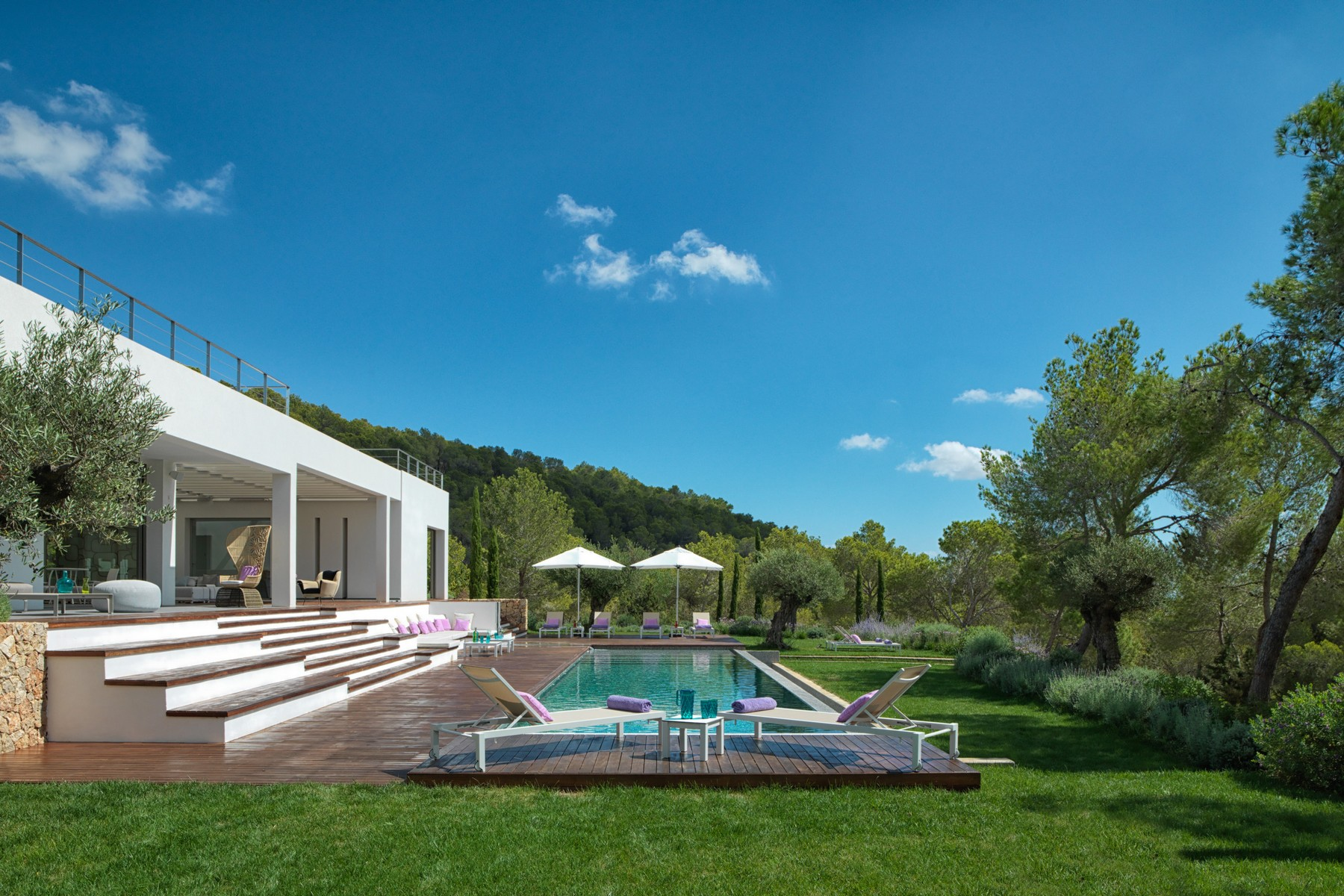 Single Family Home for Sale at Designed Private Villa In A Hill Ibiza, Balearic Islands, 07830 Spain