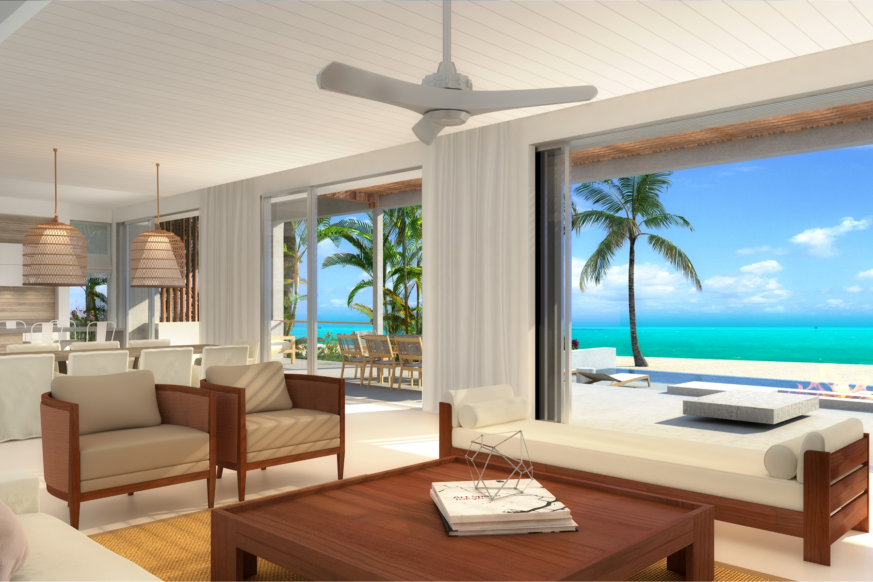 Additional photo for property listing at BEACH ENCLAVE LONG BAY - Design Two Beachfront Long Bay, Providenciales TCI Îles Turques Et Caïques