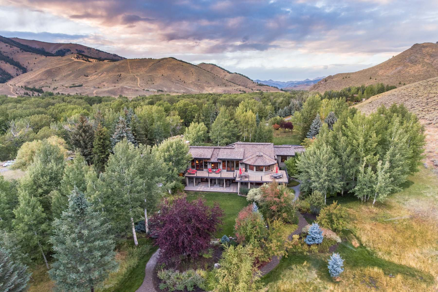 Single Family Home for Sale at Private Setting in North Gimlet 309 Madison Ave Ketchum, Idaho 83340 United States