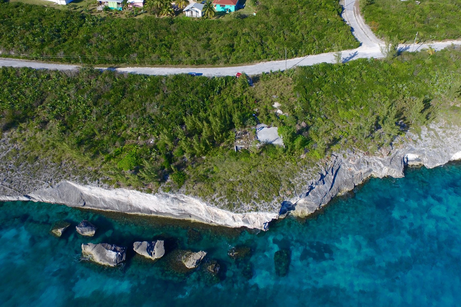 Land for Sale at Waterfront Lot with Spectacular Views Rainbow Bay, Eleuthera Bahamas