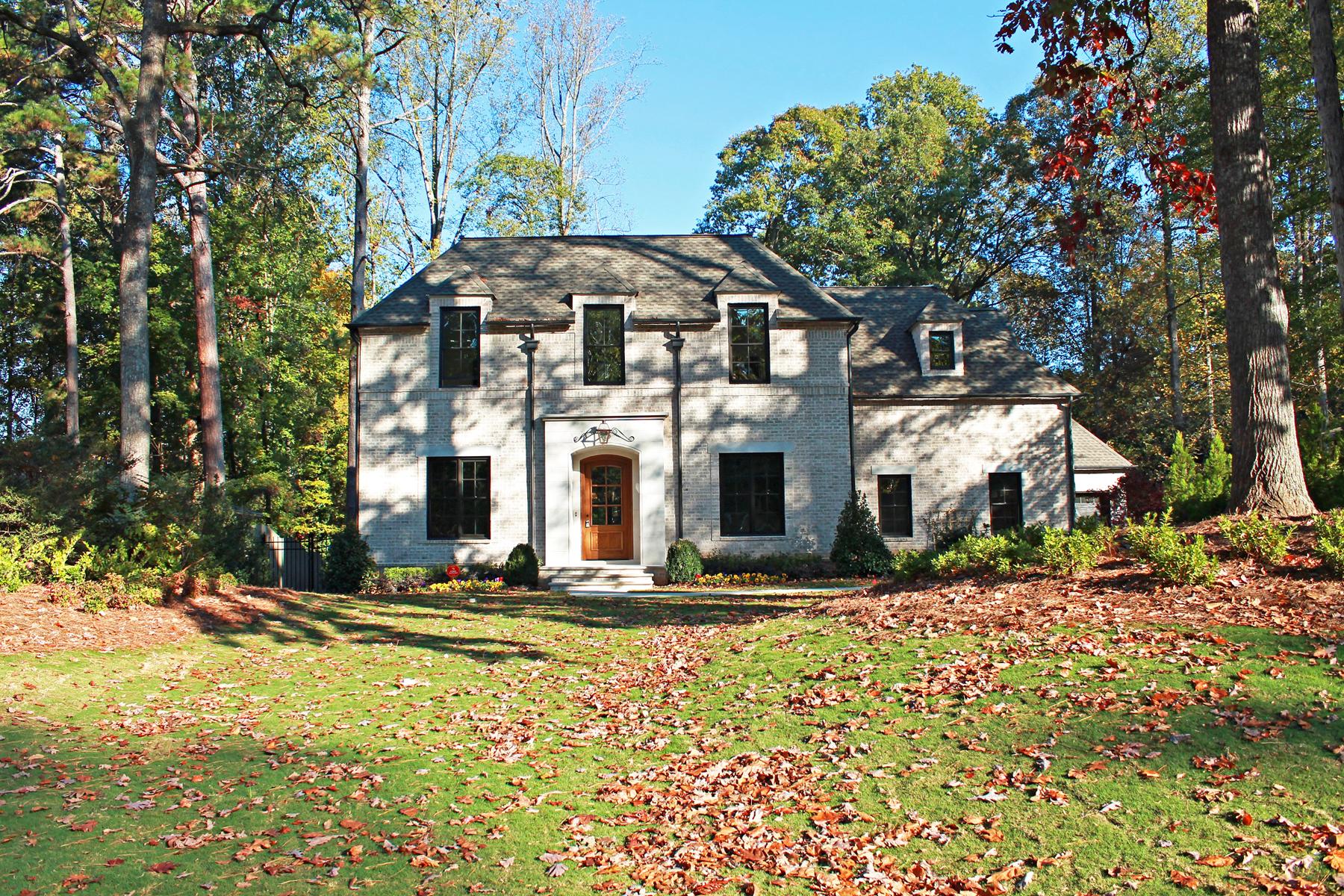 一戸建て のために 売買 アット Incredible Yong Pak Design 1323 Battleview Drive Buckhead, Atlanta, ジョージア, 30327 アメリカ合衆国