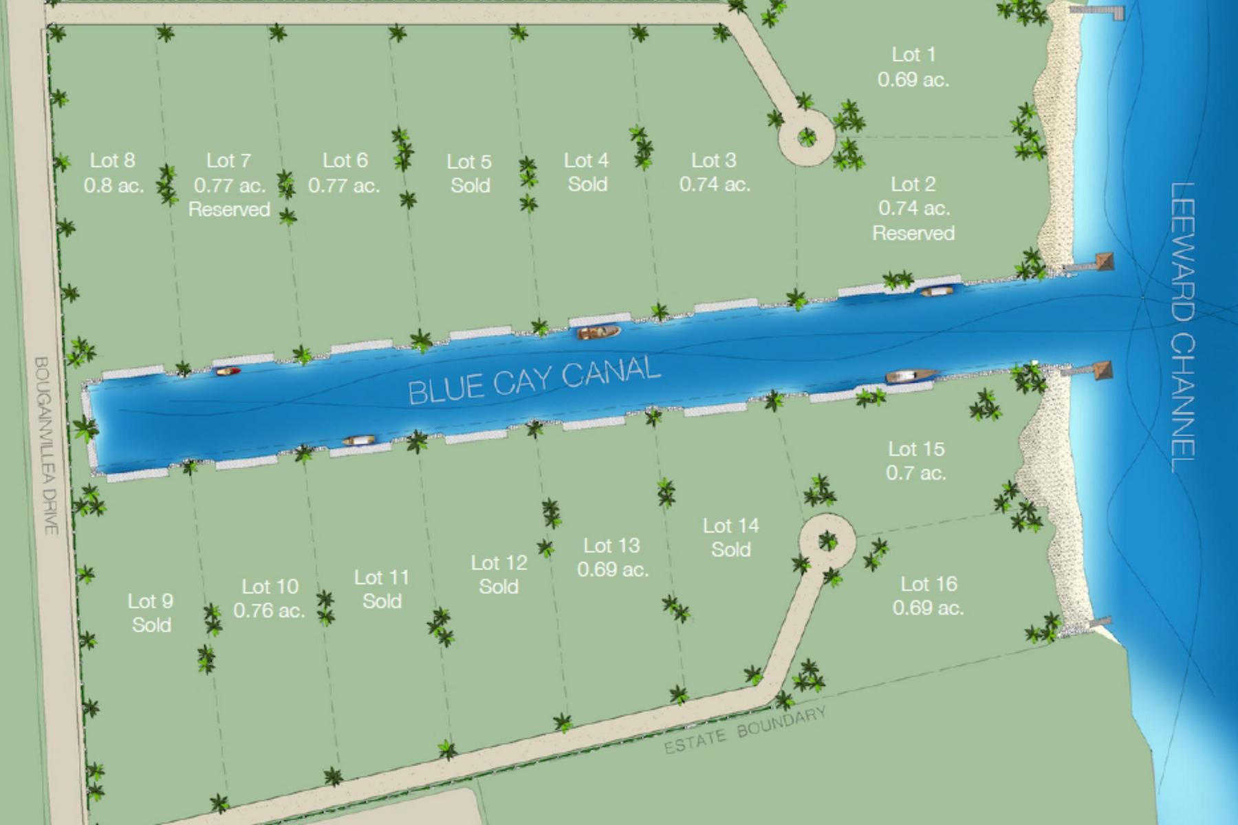 Additional photo for property listing at Parallel Canalfront Lot 7 Blue Cay Estate, Leeward, Providenciales Îles Turques Et Caïques