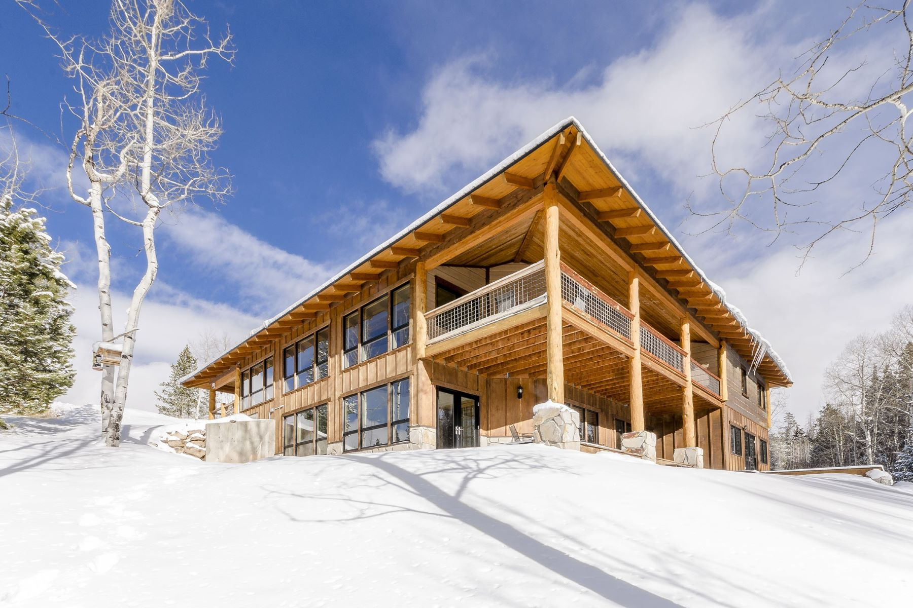 Maison unifamiliale pour l Vente à Stagecoach Seclusion 32935 & 32950 Maverick Way Oak Creek, Colorado 80467 États-Unis