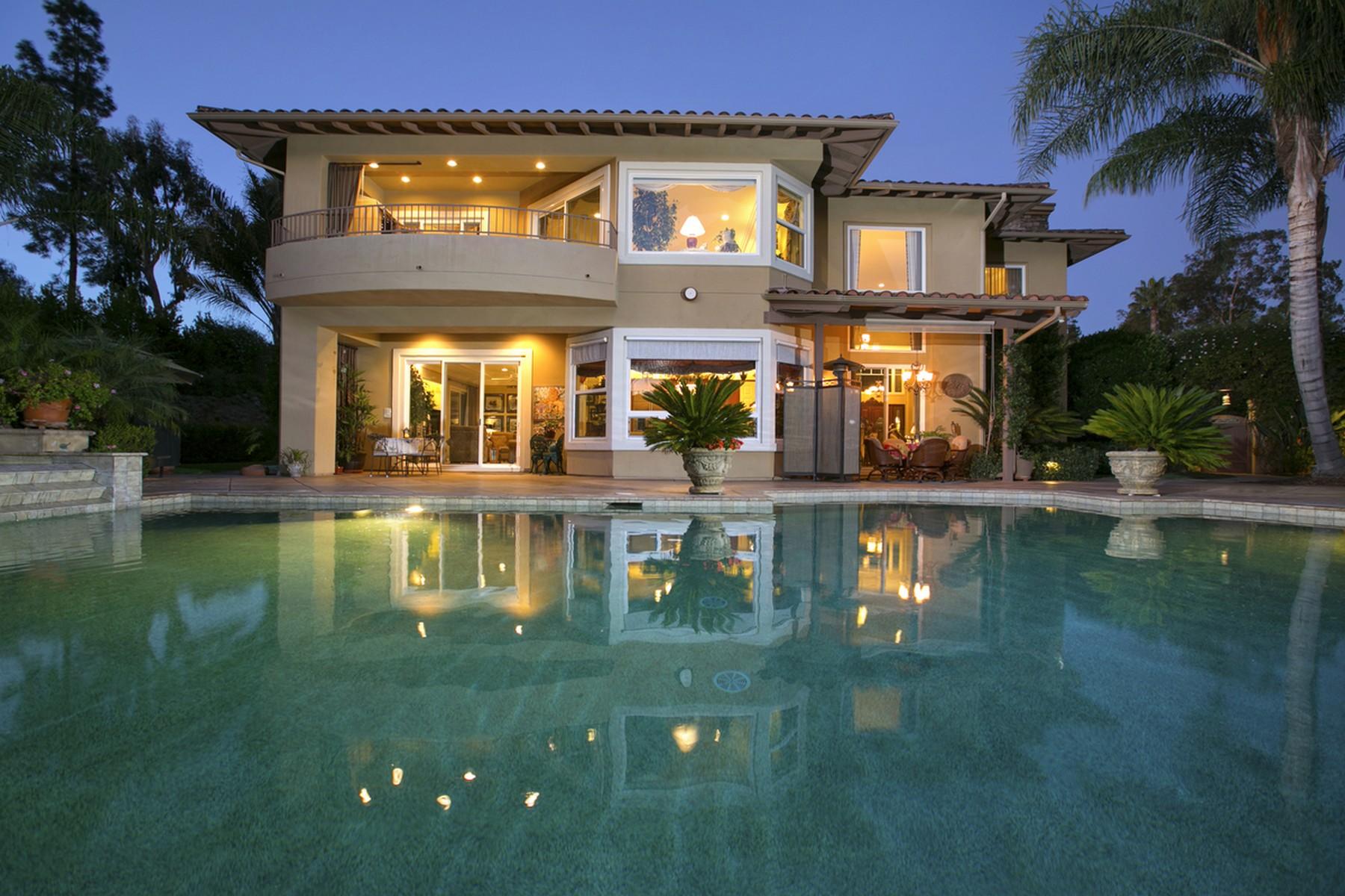 独户住宅 为 销售 在 7344 Noche Tapatia Rancho Santa Fe, 加利福尼亚州 92067 美国