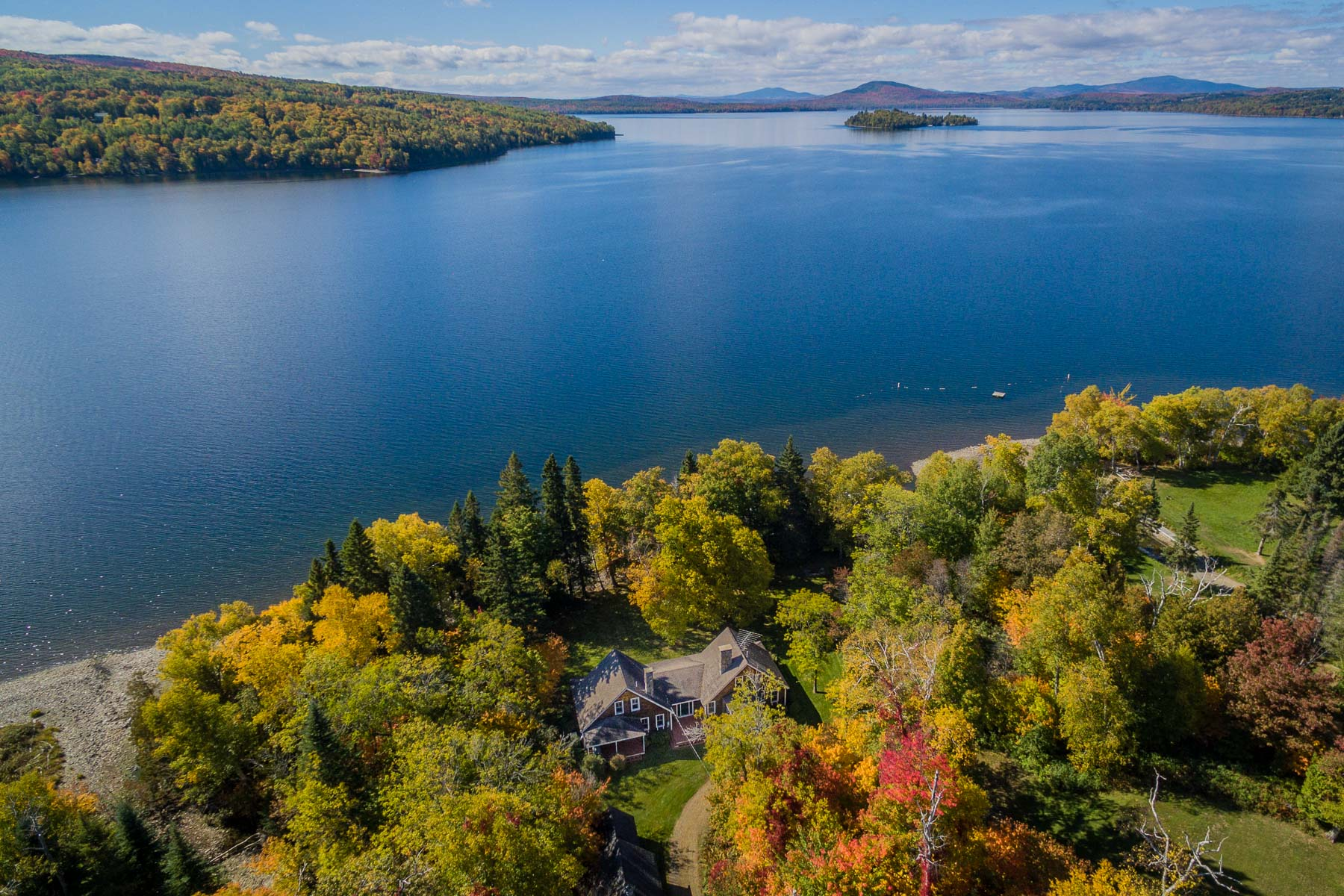 Single Family Home for Sale at 17 Burr Road Rangeley, Maine 04970 United States