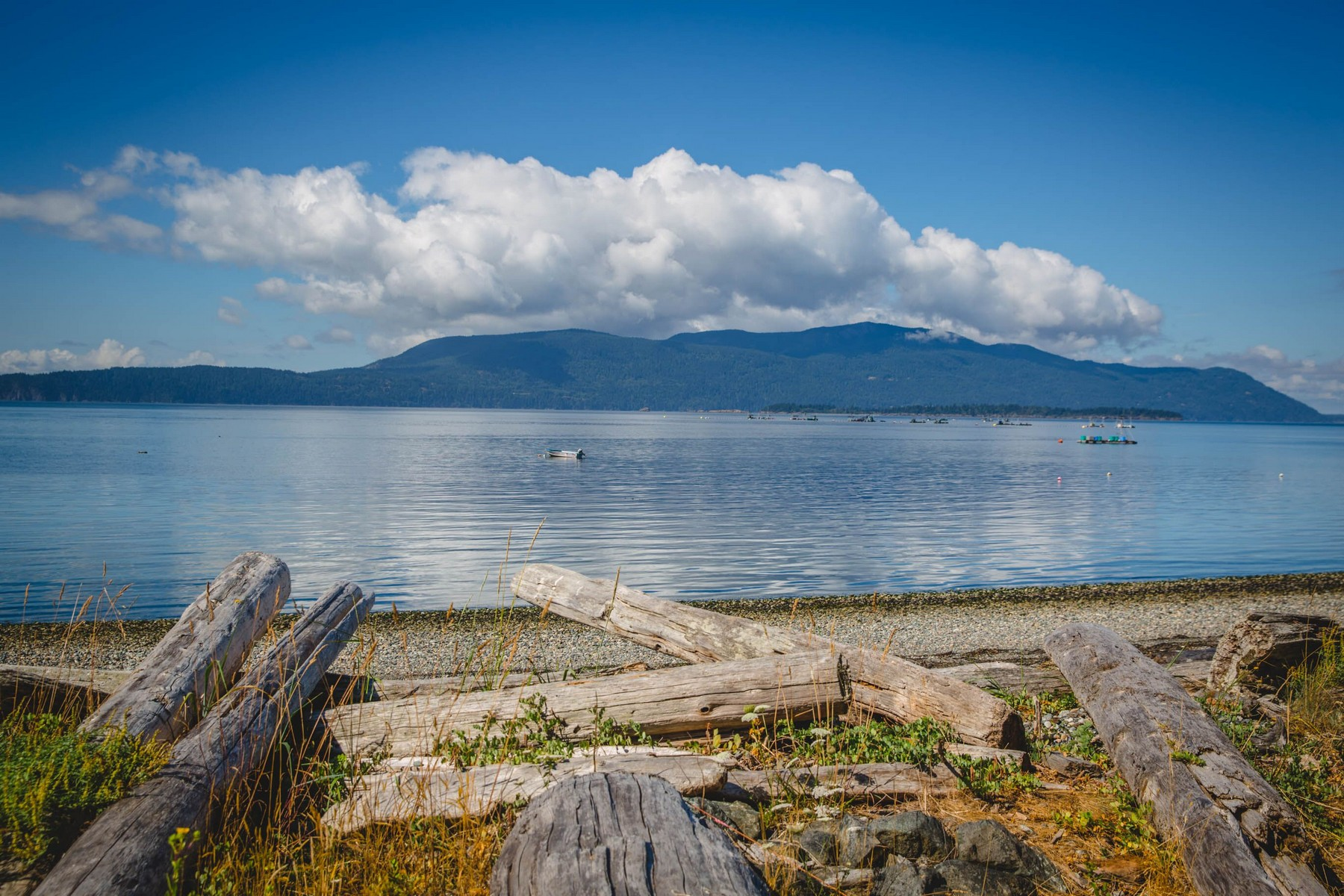 Land for Sale at Rare Private Beach Waterfront Property on Lummi Island XXX Legoe Bay Road Lummi Island, Washington 98262 United States