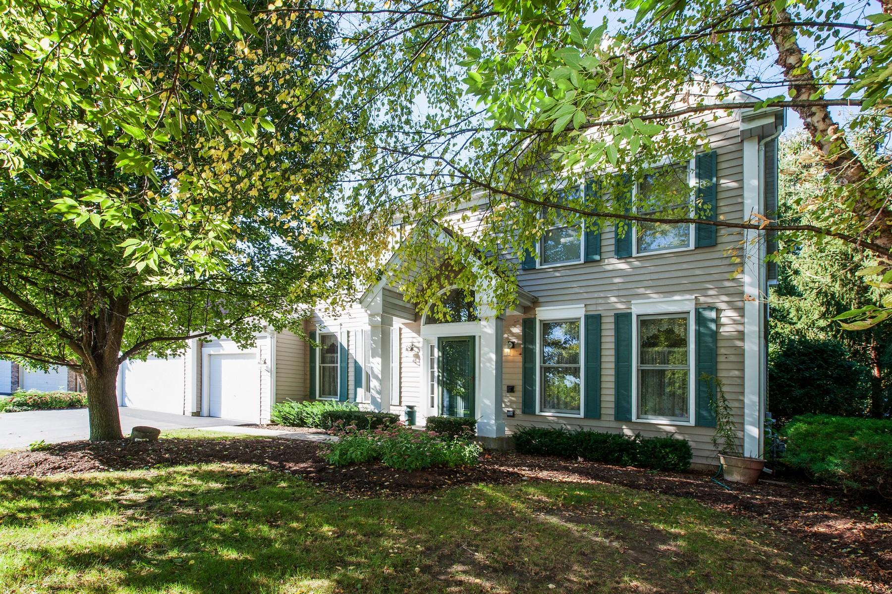 Частный односемейный дом для того Продажа на Prime Location In Arbor Hills 2 Windsor Court Algonquin, Иллинойс, 60102 Соединенные Штаты