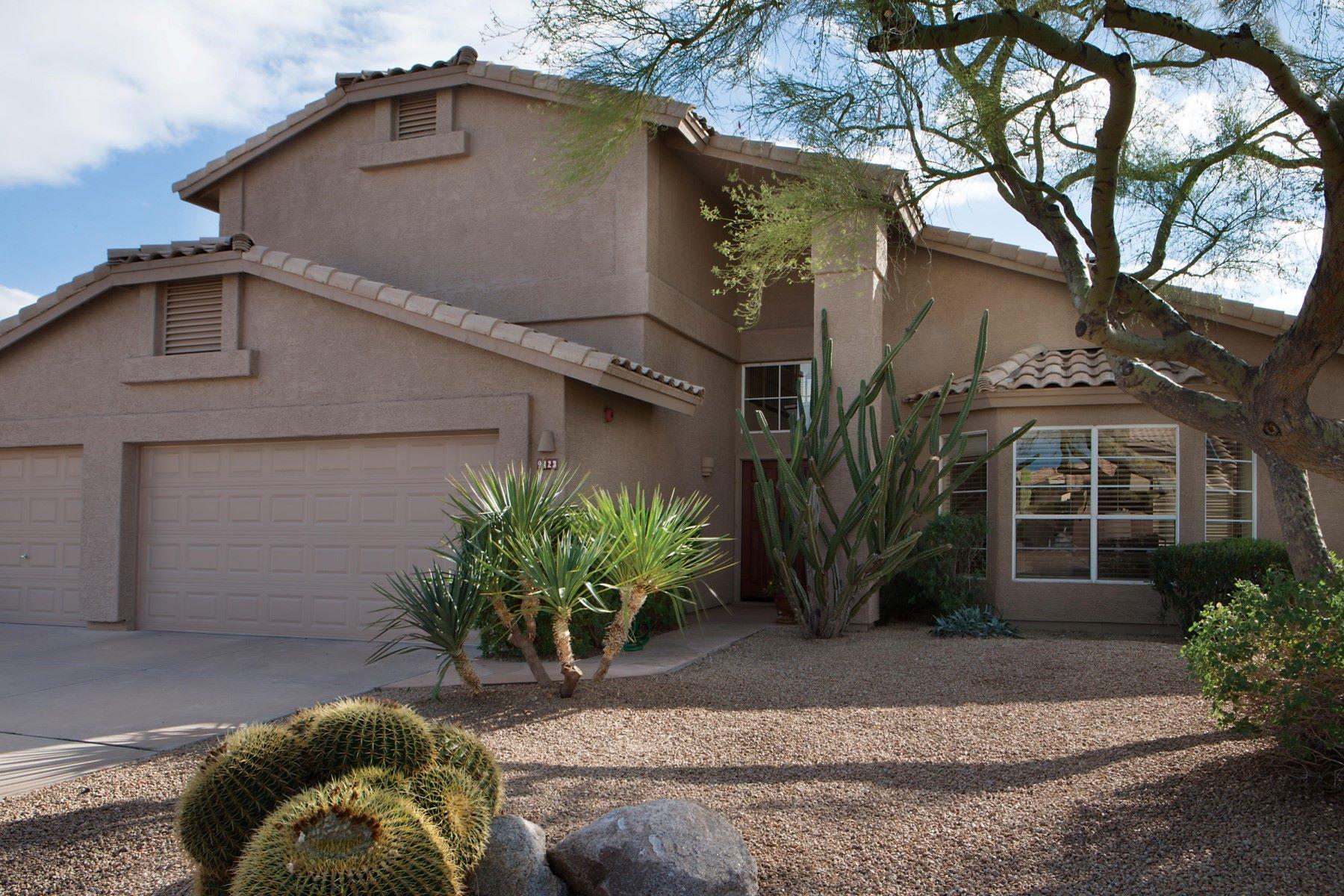 Частный односемейный дом для того Продажа на Immaculately maintained Ironwood Village 9423 E Rosemonte Dr Scottsdale, Аризона, 85255 Соединенные Штаты