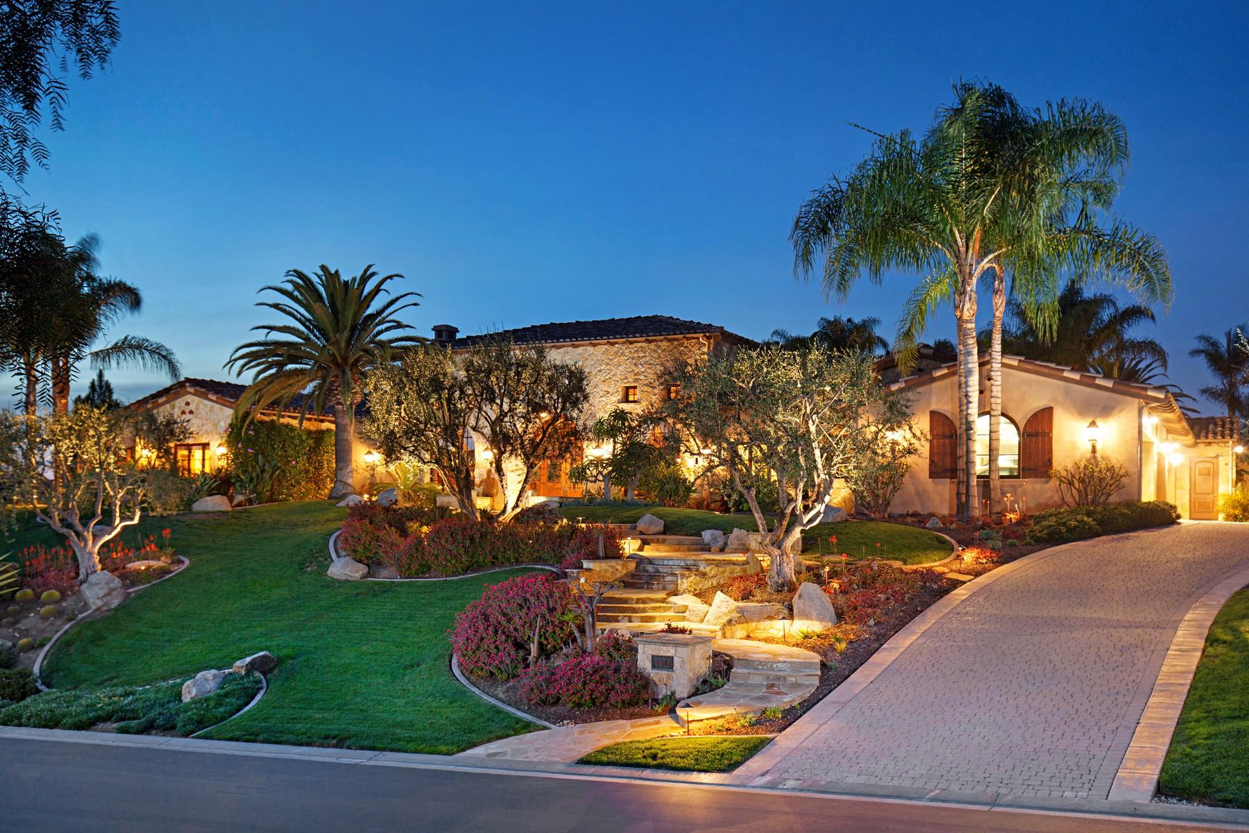 Частный односемейный дом для того Продажа на 4920 Rancho Del Mar Trail San Diego, 92130 Соединенные Штаты