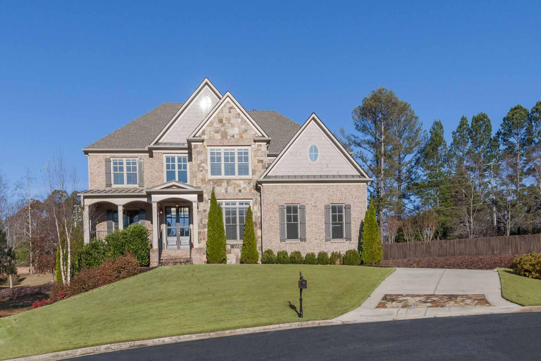 Частный односемейный дом для того Продажа на Desirable Executive Living In North Atlanta 1055 Cascade Run Court Suwanee, Джорджия, 30024 Соединенные Штаты