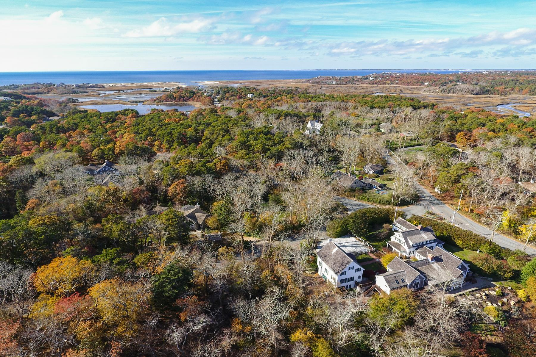 واحد منزل الأسرة للـ Sale في Grand and Private Estate Truro, Massachusetts 02666 United States