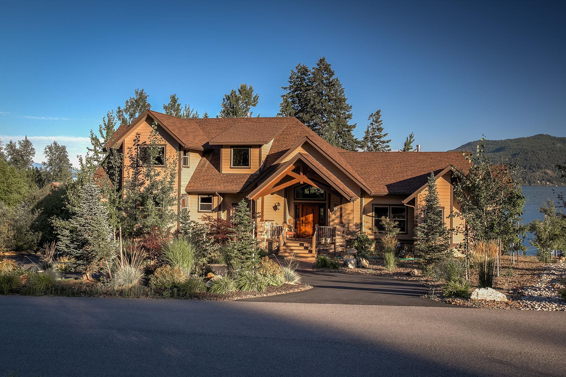 Single Family Home for Sale at Ponder Point Lane 67 Ponder Point Lane Sandpoint, Idaho, 83864 United States