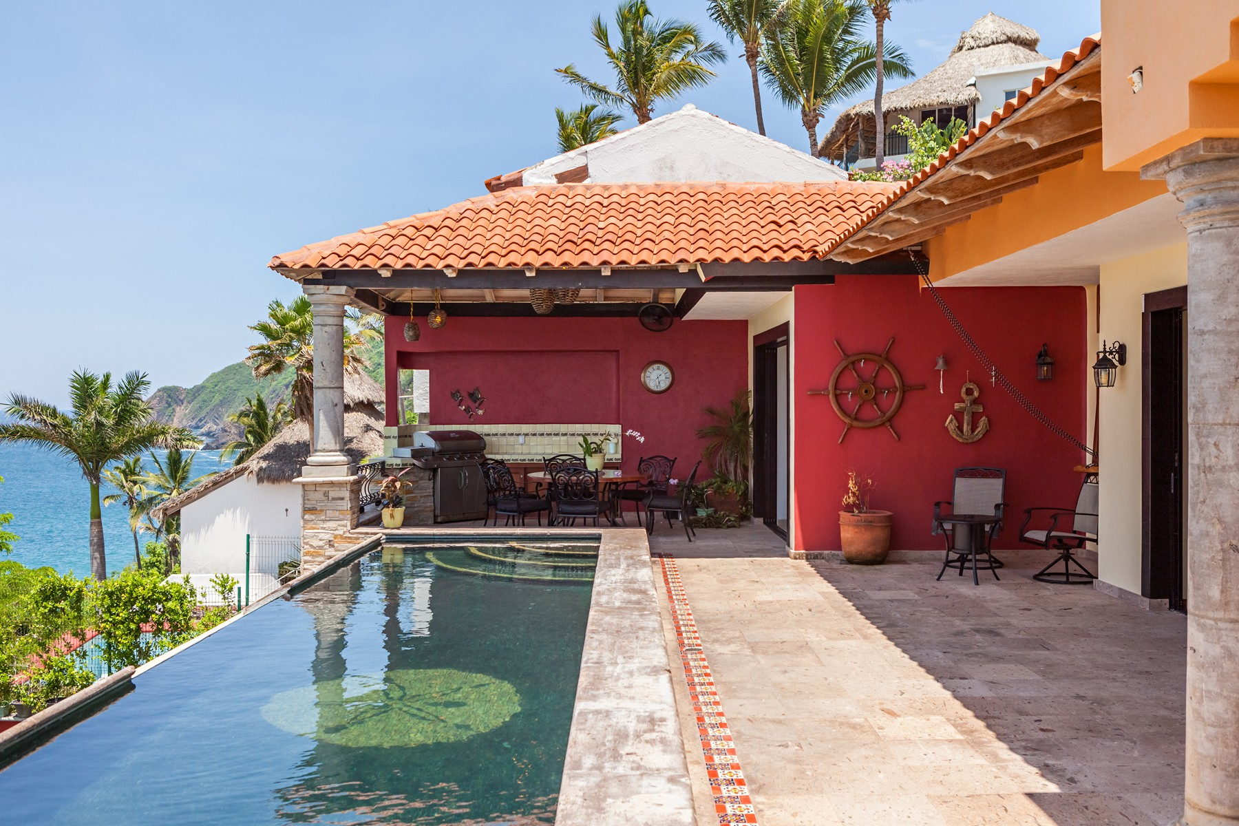 Single Family Home for Sale at Casa Tranquila, Manzanillo Calle Almendros 100 Manzanillo, Colima 28860 Mexico