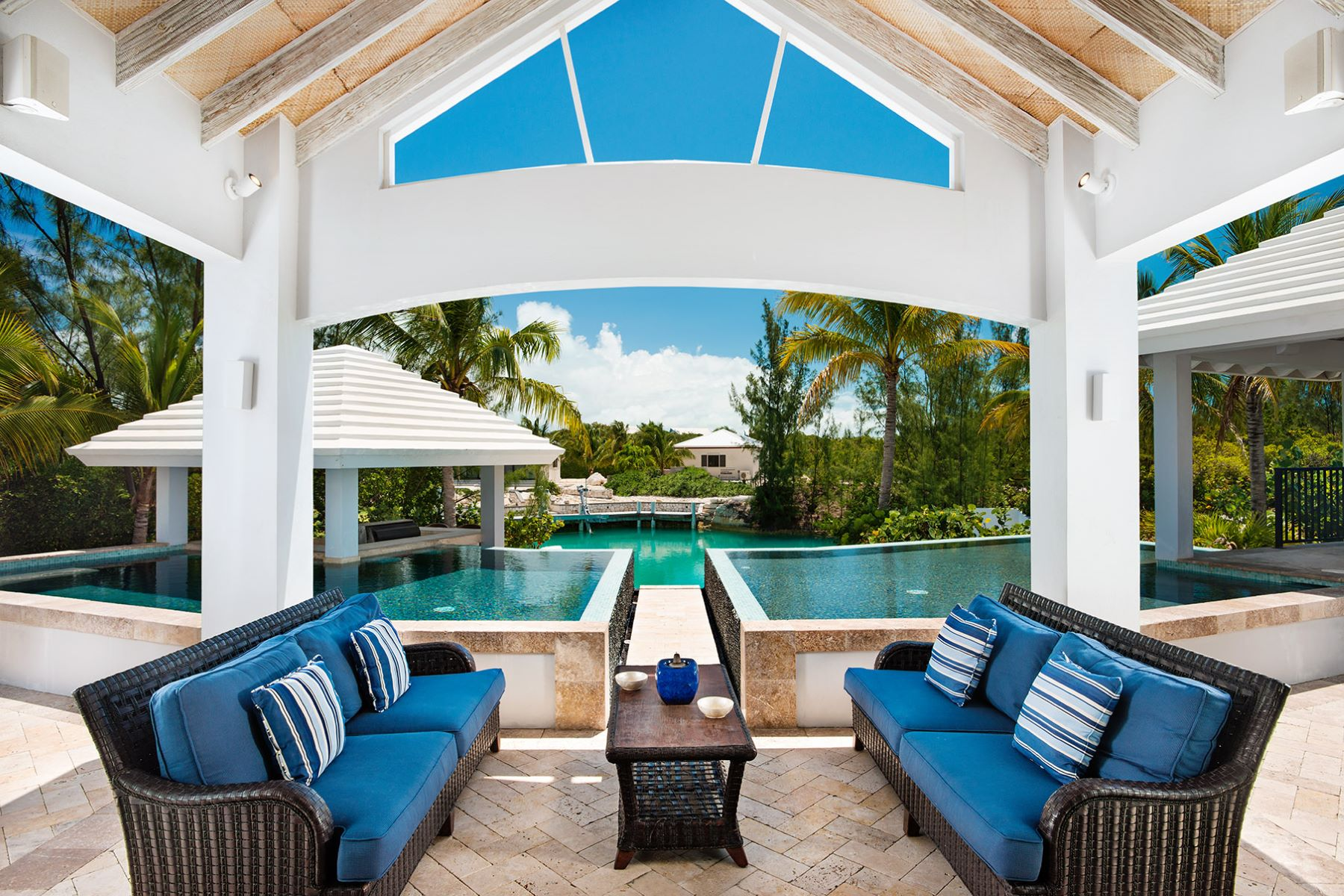 Single Family Home for Sale at Canalfront Home Governor's Road Leeward, Providenciales, Turks And Caicos Islands