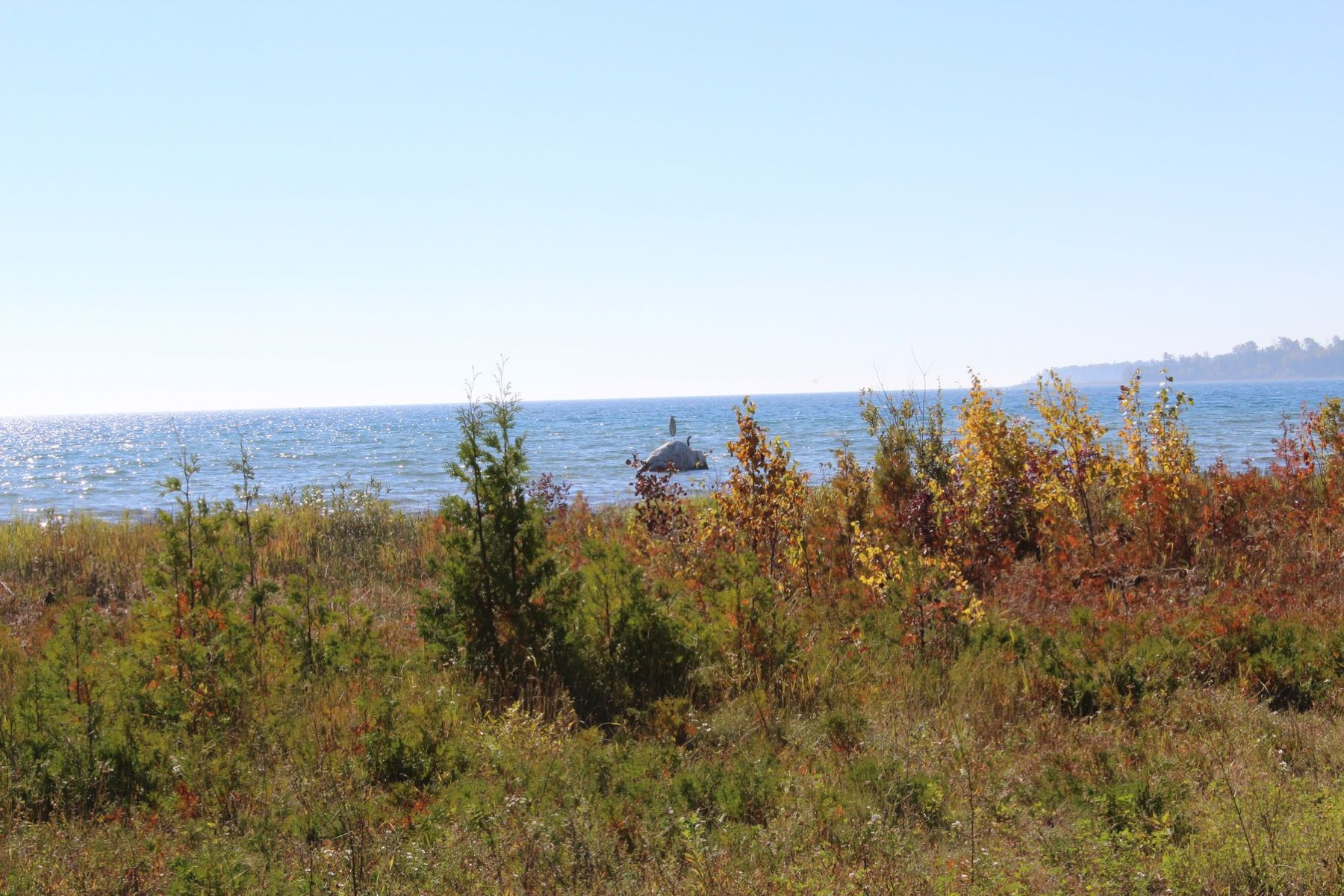 sales property at 198' of Lake Michigan Frontage