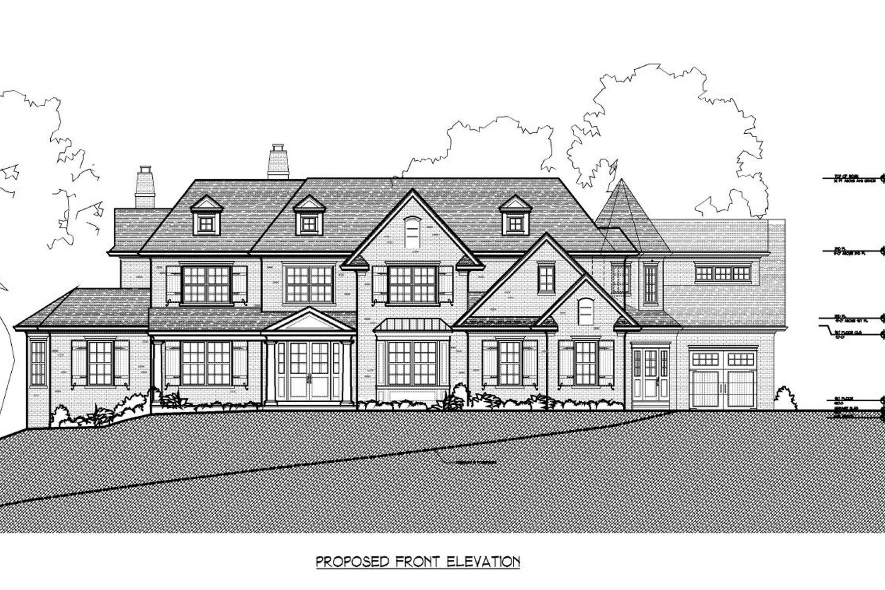 独户住宅 为 销售 在 The Madison 2 Falcon Point Drive 北考德维尔, 新泽西州, 07006 美国
