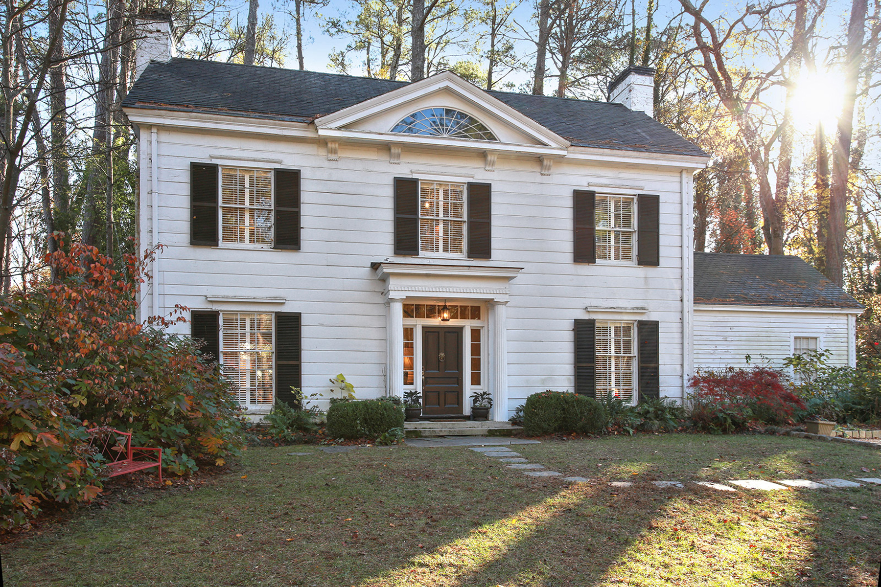 Single Family Home for Sale at Beautiful Greek Revival Home In Buckhead 504 West Wesley Atlanta, Georgia, 30305 United States