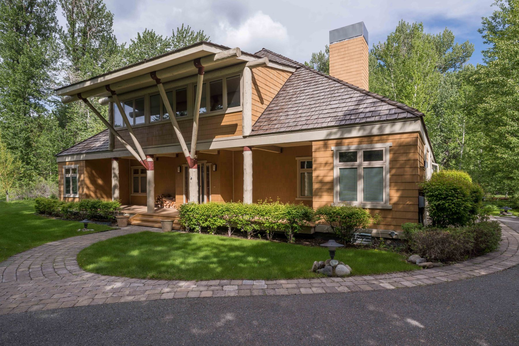 Casa para uma família para Venda às Zinc Spur Mountain Modern 205 Willow Road Mid Valley, Hailey, Idaho, 83333 Estados Unidos