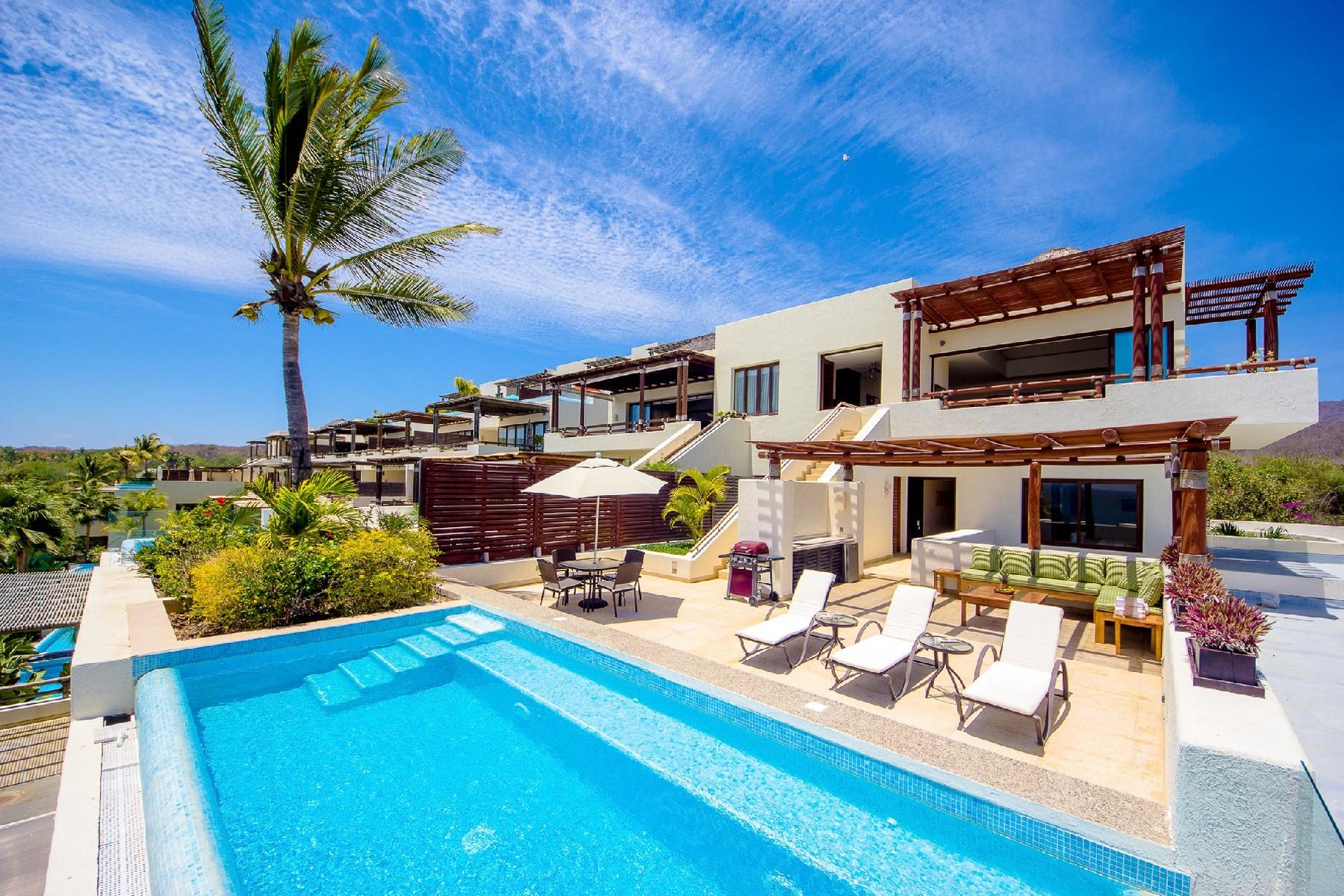 Additional photo for property listing at Los Veneros PH409 Pacífico Punta Mita Carretera a Punta Mita KM 8.3 Other Nayarit, Nayarit 63734 Mexico