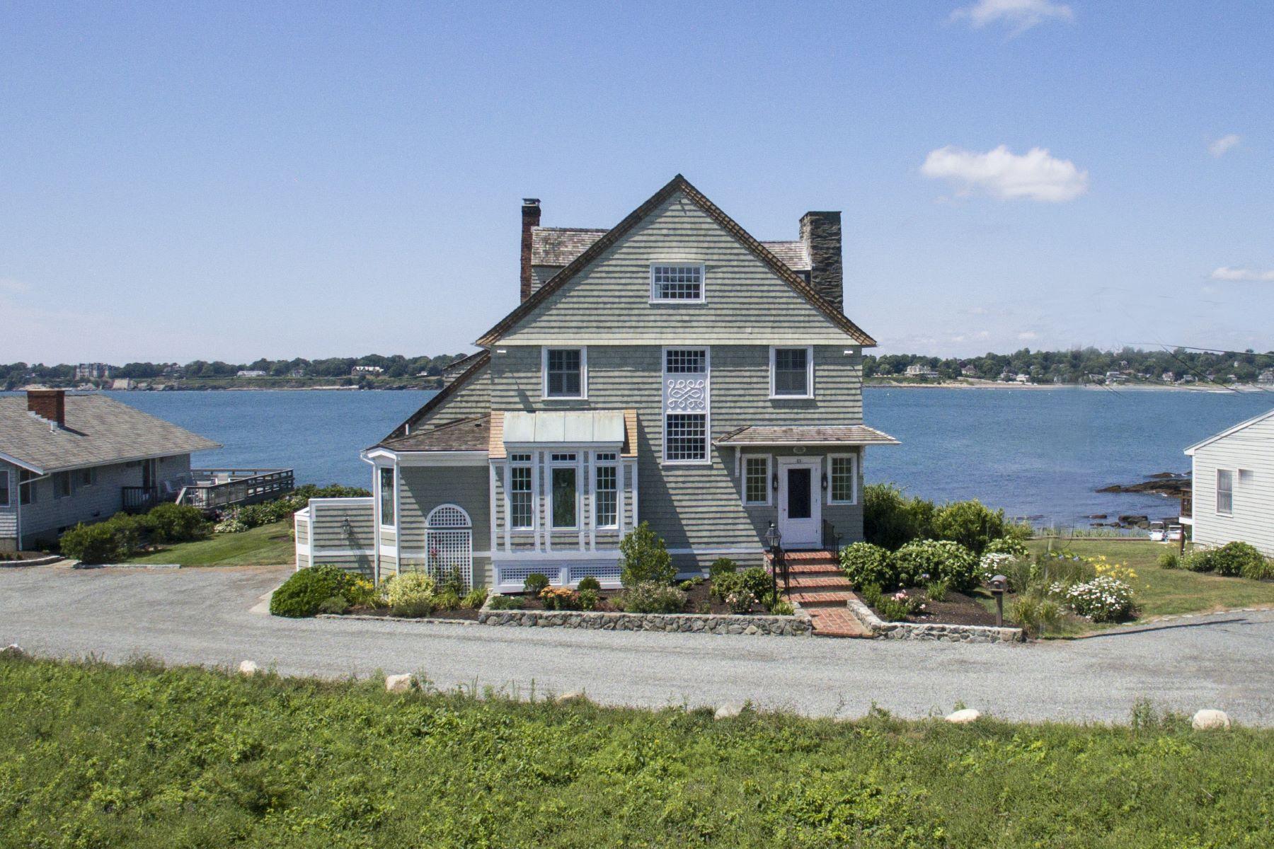 独户住宅 为 销售 在 'Cliff Cottage' 63 Shore Drive 米德尔敦, 02842 美国