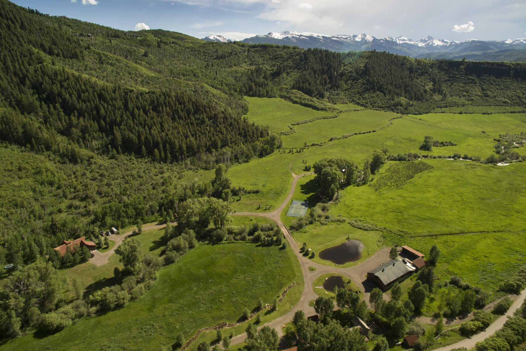 Farm / Ranch / Plantation for Sale at Circle R Ranch 3448 Woody Creek Road Woody Creek, Colorado 81656 United States