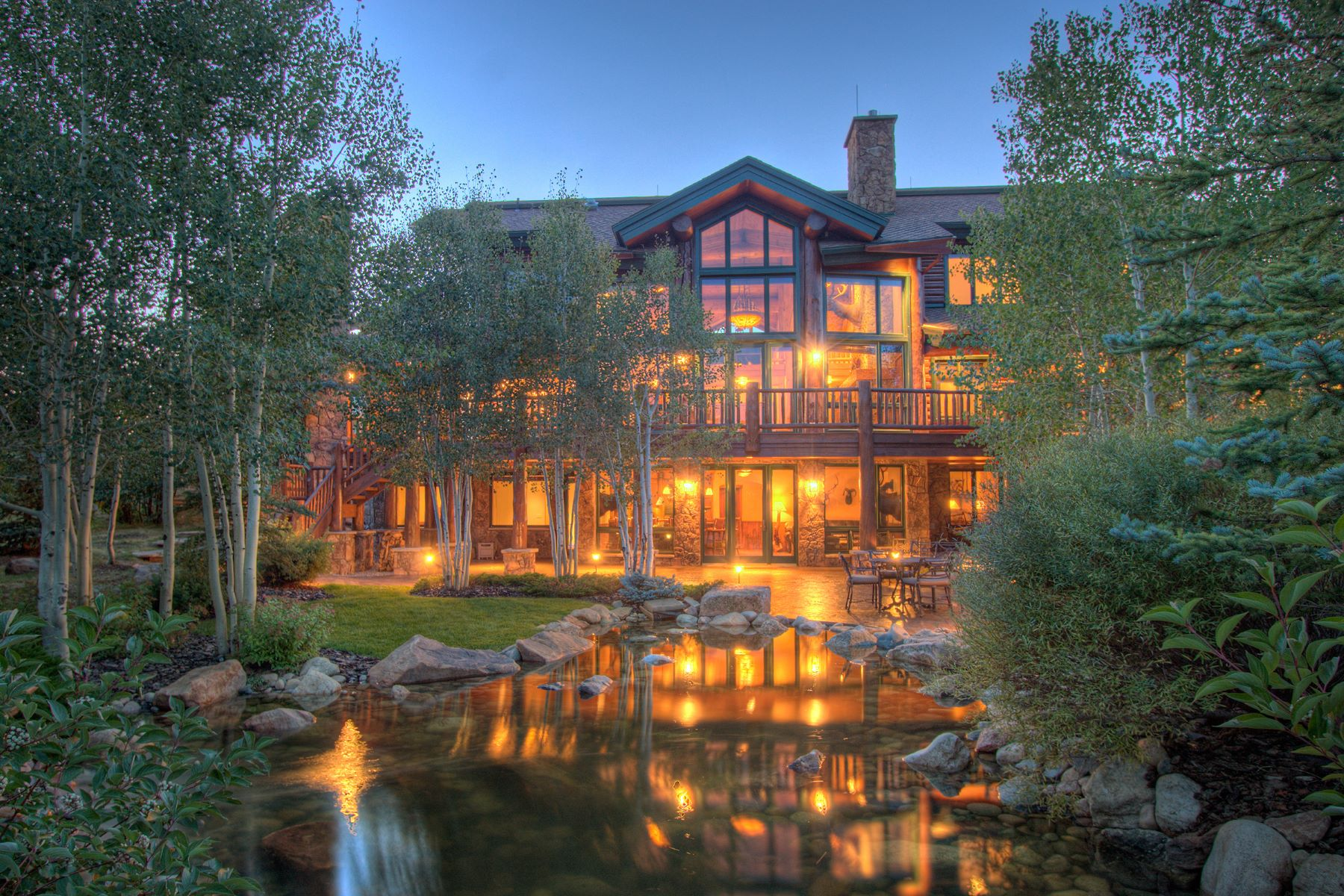 Maison unifamiliale pour l Vente à Emerald Mountain Ranch 27680 Beaver Ridge Road Steamboat Springs, Colorado, 80487 États-Unis
