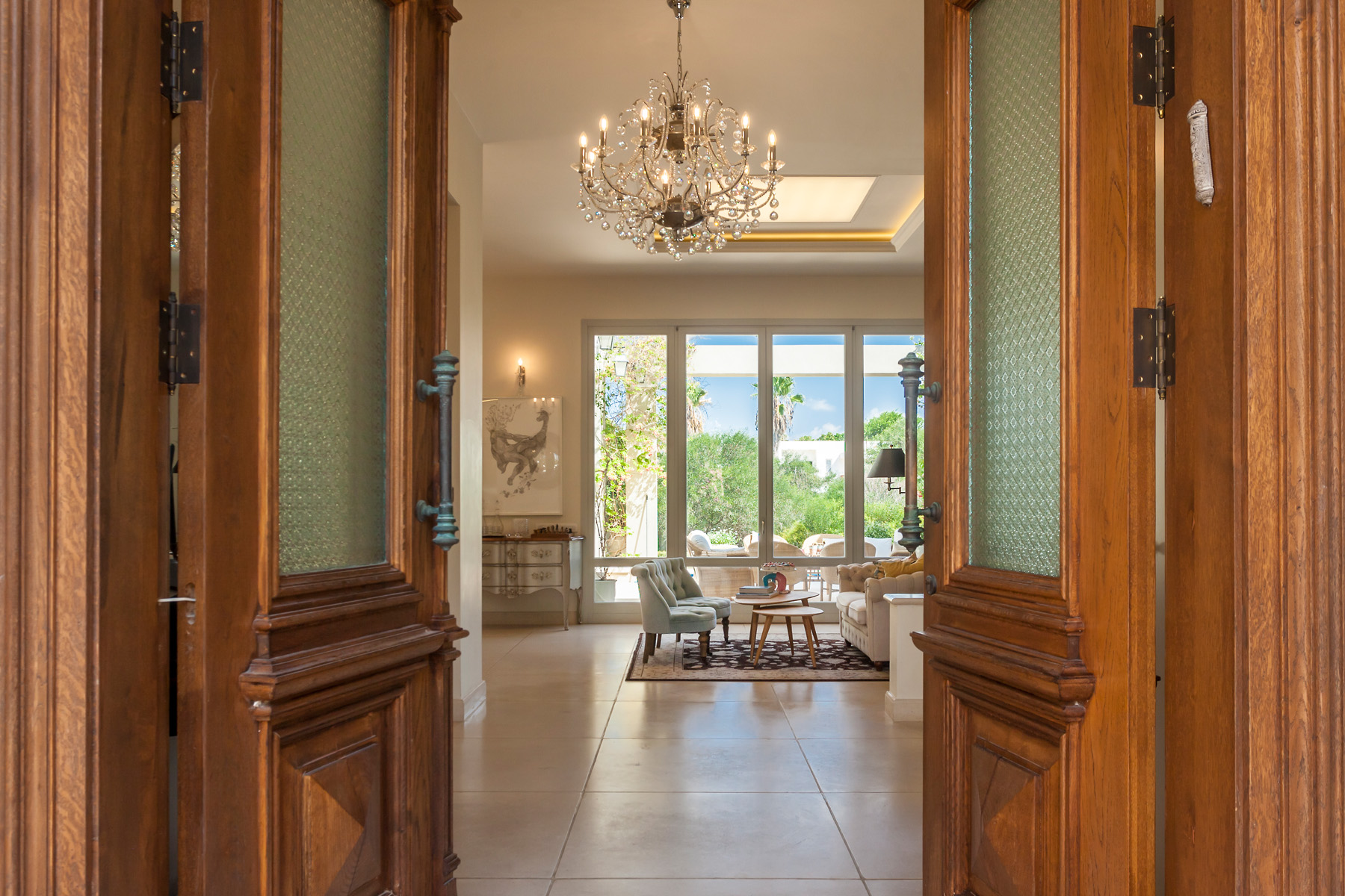 Additional photo for property listing at Majestic Classic Sea View Villa  Caesarea, Israel 3088900 Israel