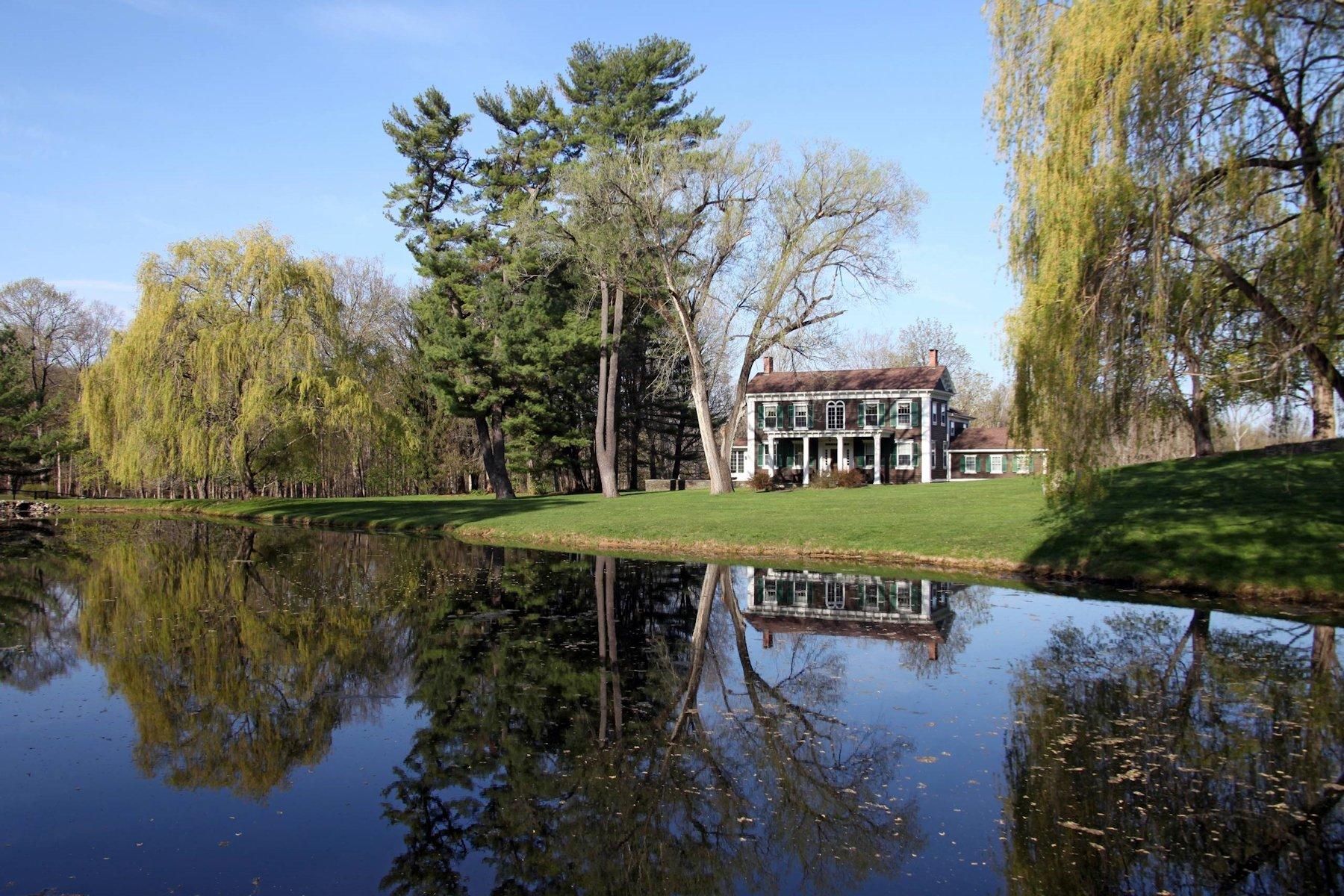 Einfamilienhaus für Verkauf beim Bryndelbrook 167 River Road Rhinebeck, New York, 12572 Vereinigte Staaten