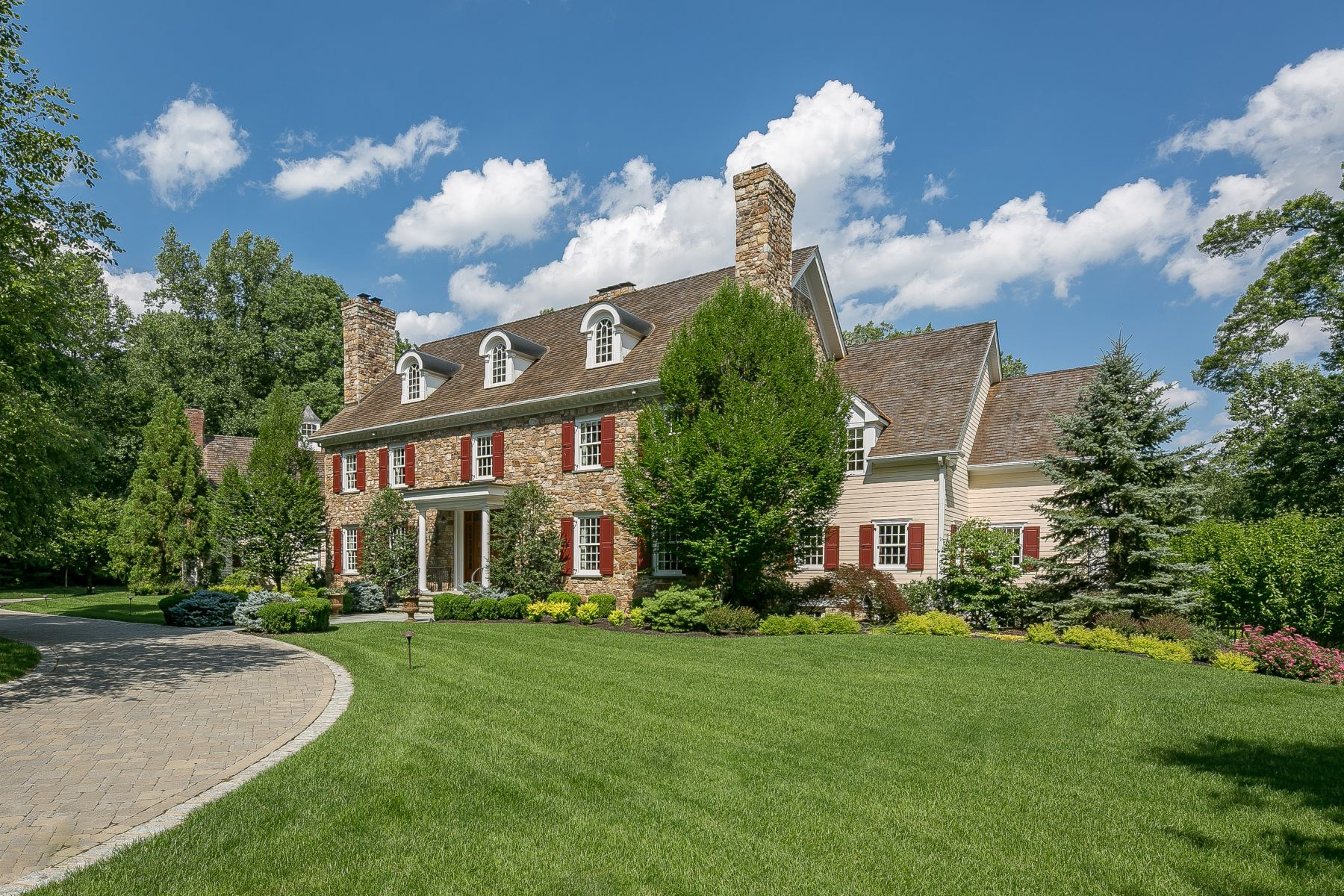 Single Family Home for Sale at Exquisite New Vernon Estate 42 Kennedy Lane Harding Township, 07976 United States