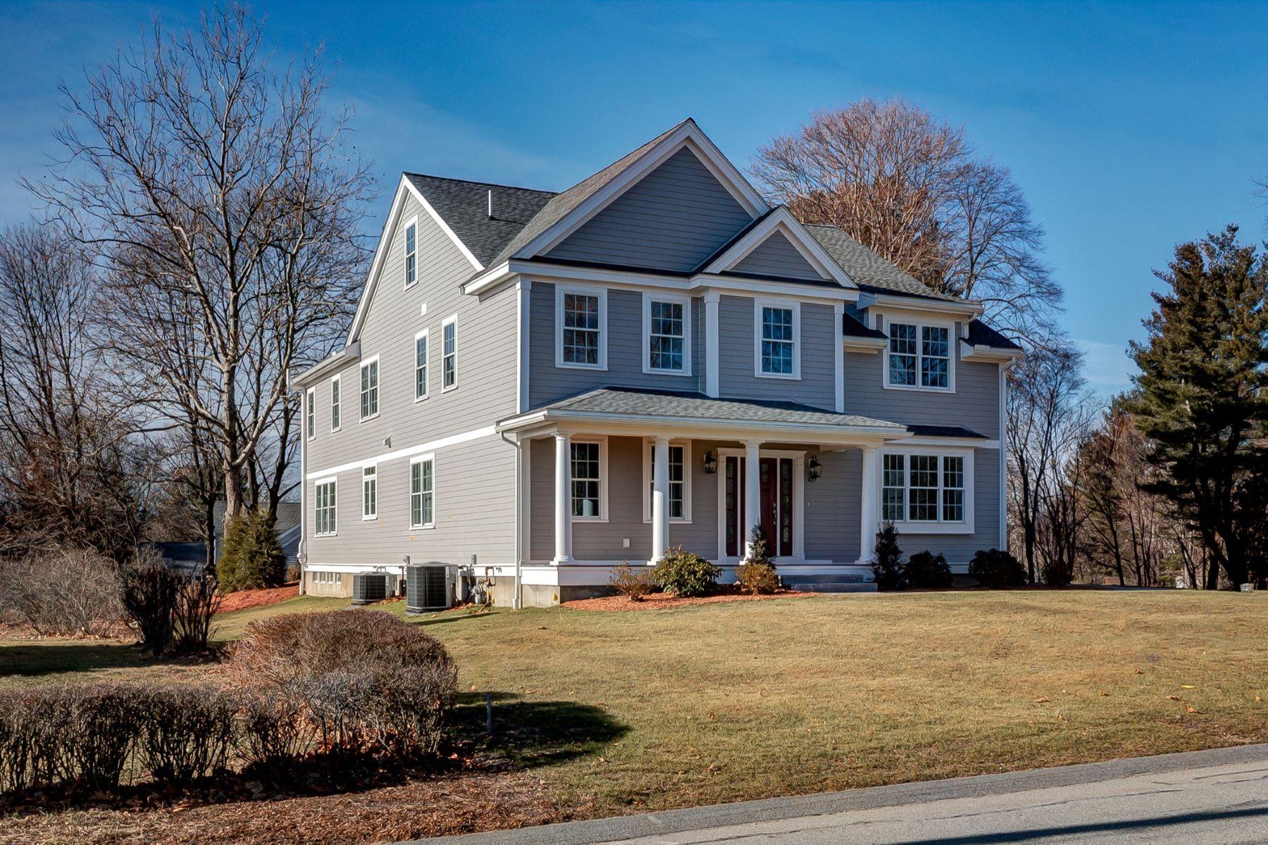 Maison unifamiliale pour l Vente à New Construction 427 Davis Road Bedford, Massachusetts 01730 États-Unis